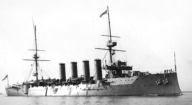 La foto diaria - Página 6 HMS_Devonshire_(1904)