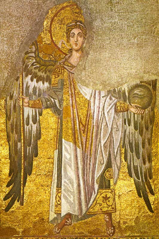 Hagia Sophia Constantinople Angel.jpg