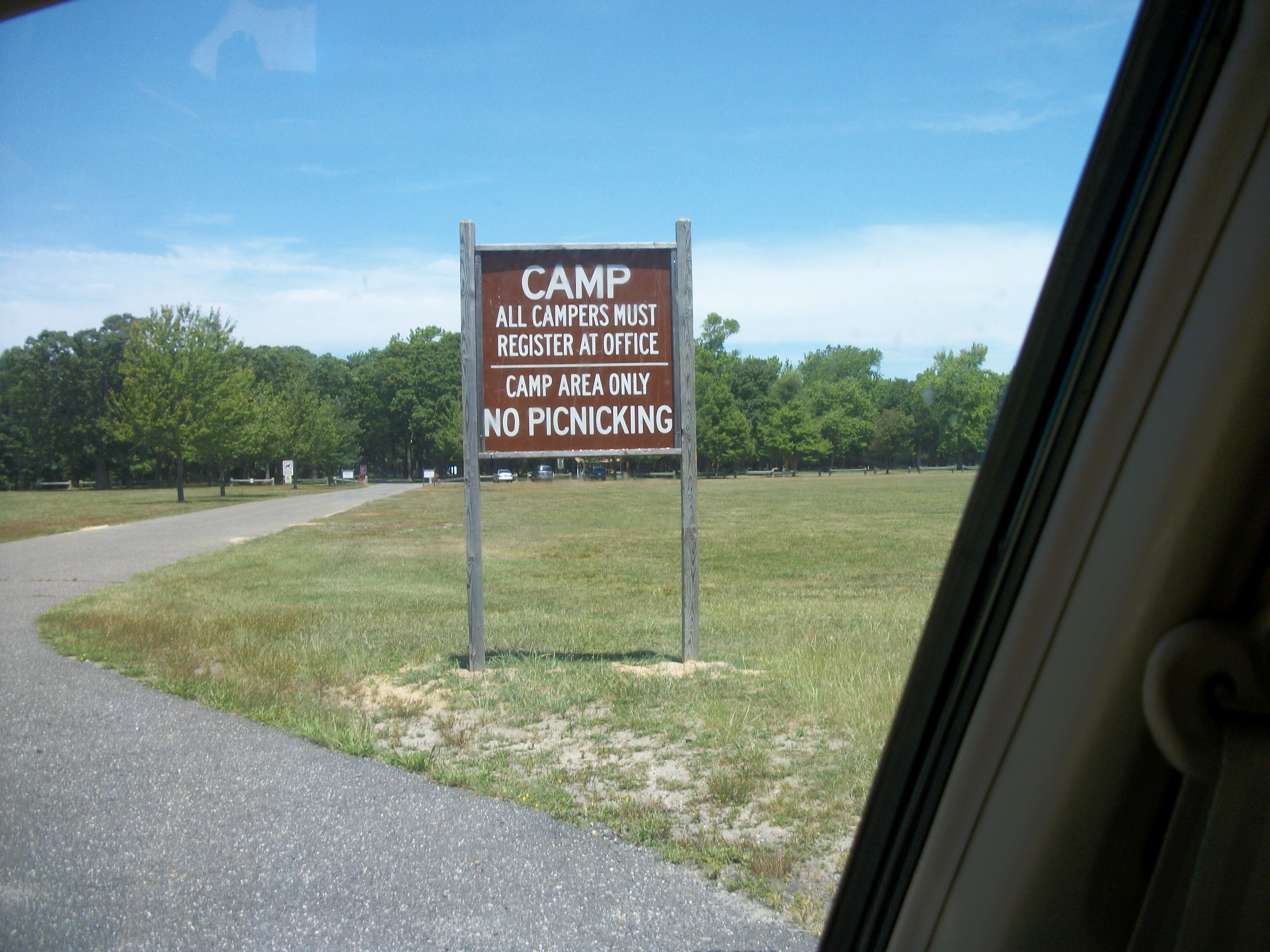 Description Heckscher State Park  Camping Area.JPG