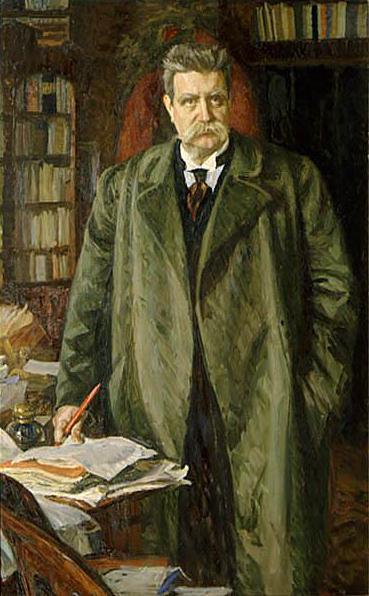 Hjalmar Branting, portrett av Richard Bergh