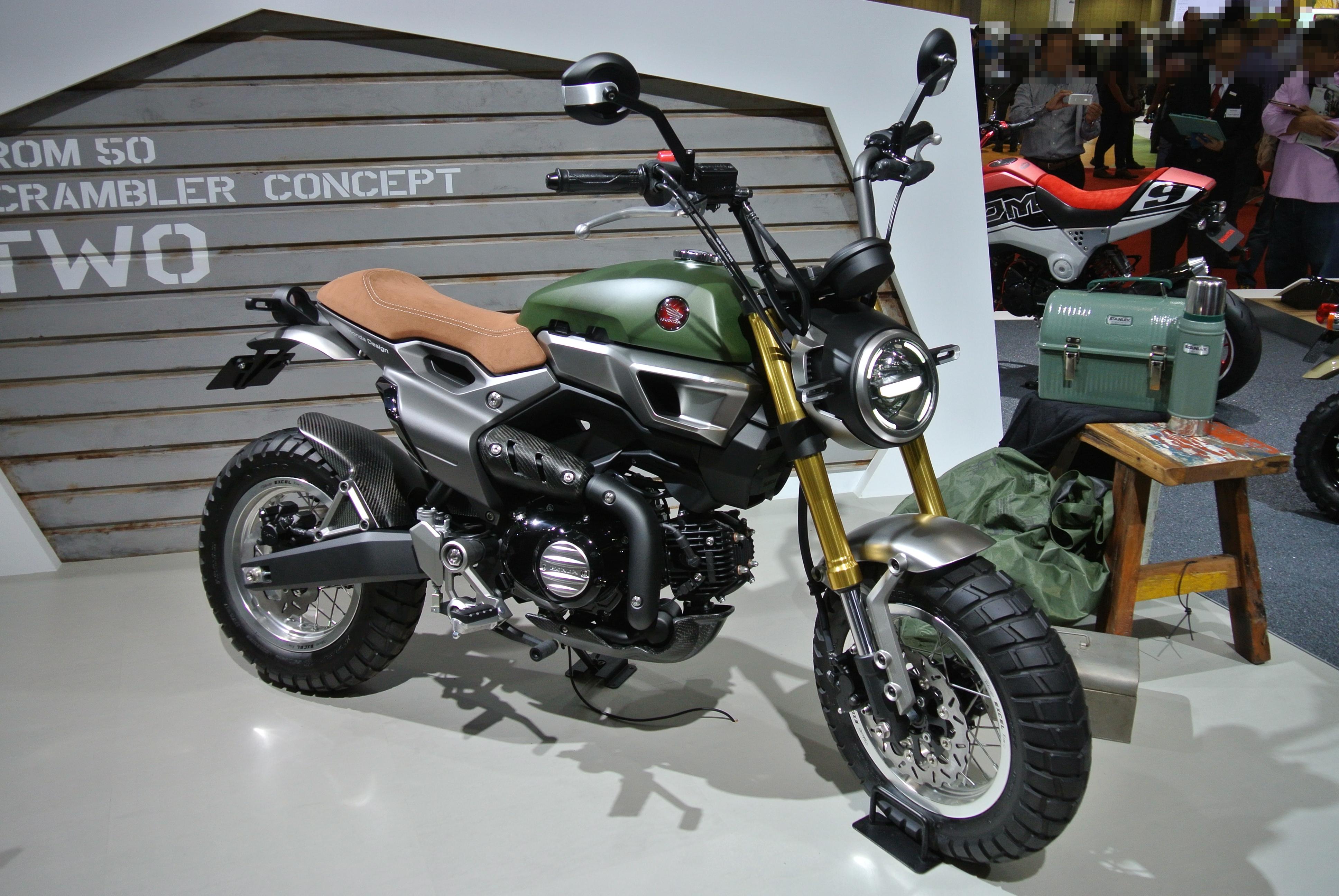Build Your Own Honda Grom >> File:Honda concept grom 50 two.JPG - Wikimedia Commons