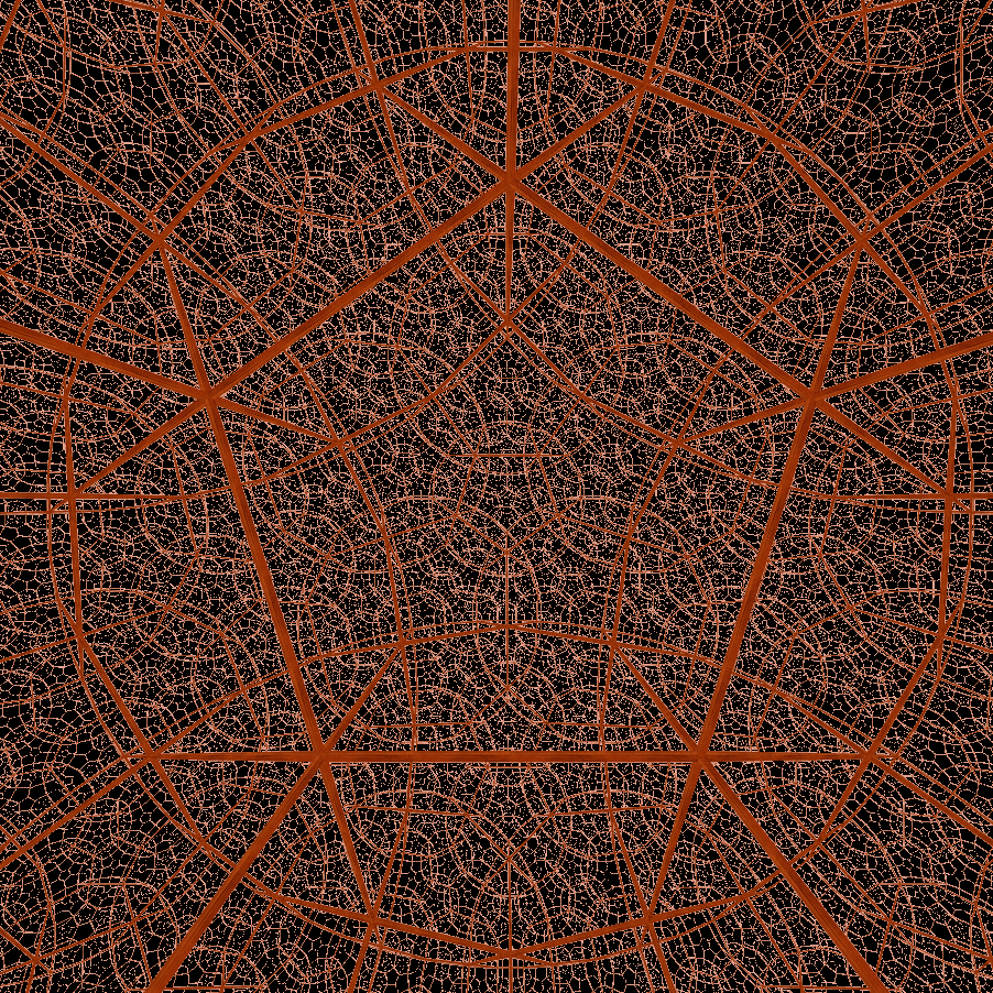 Hyperbolic orthogonal dodecahedral honeycomb