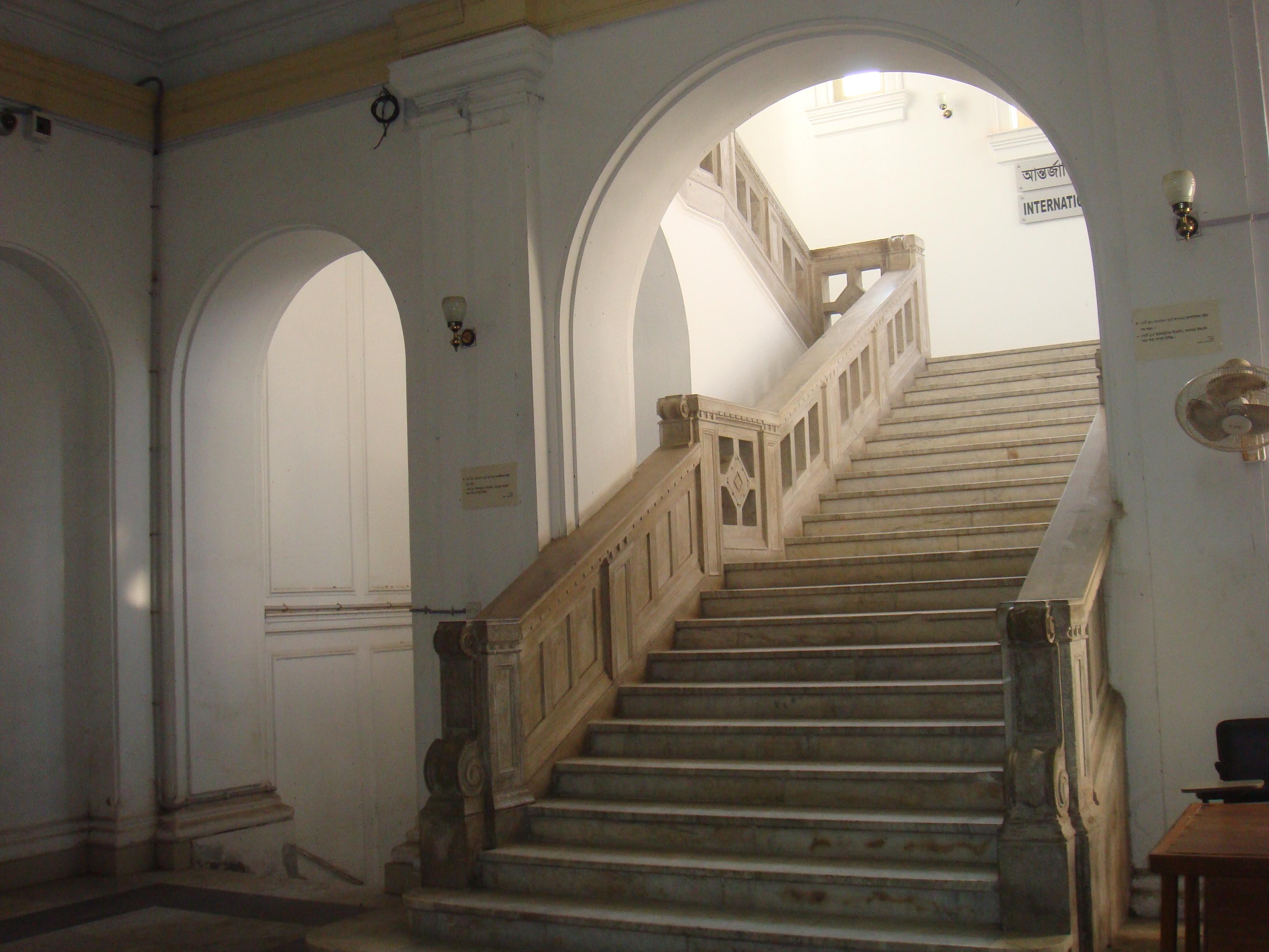 FileINTERIOR STAIRS VIEW OLD HIGH COURTDHAKAJPG