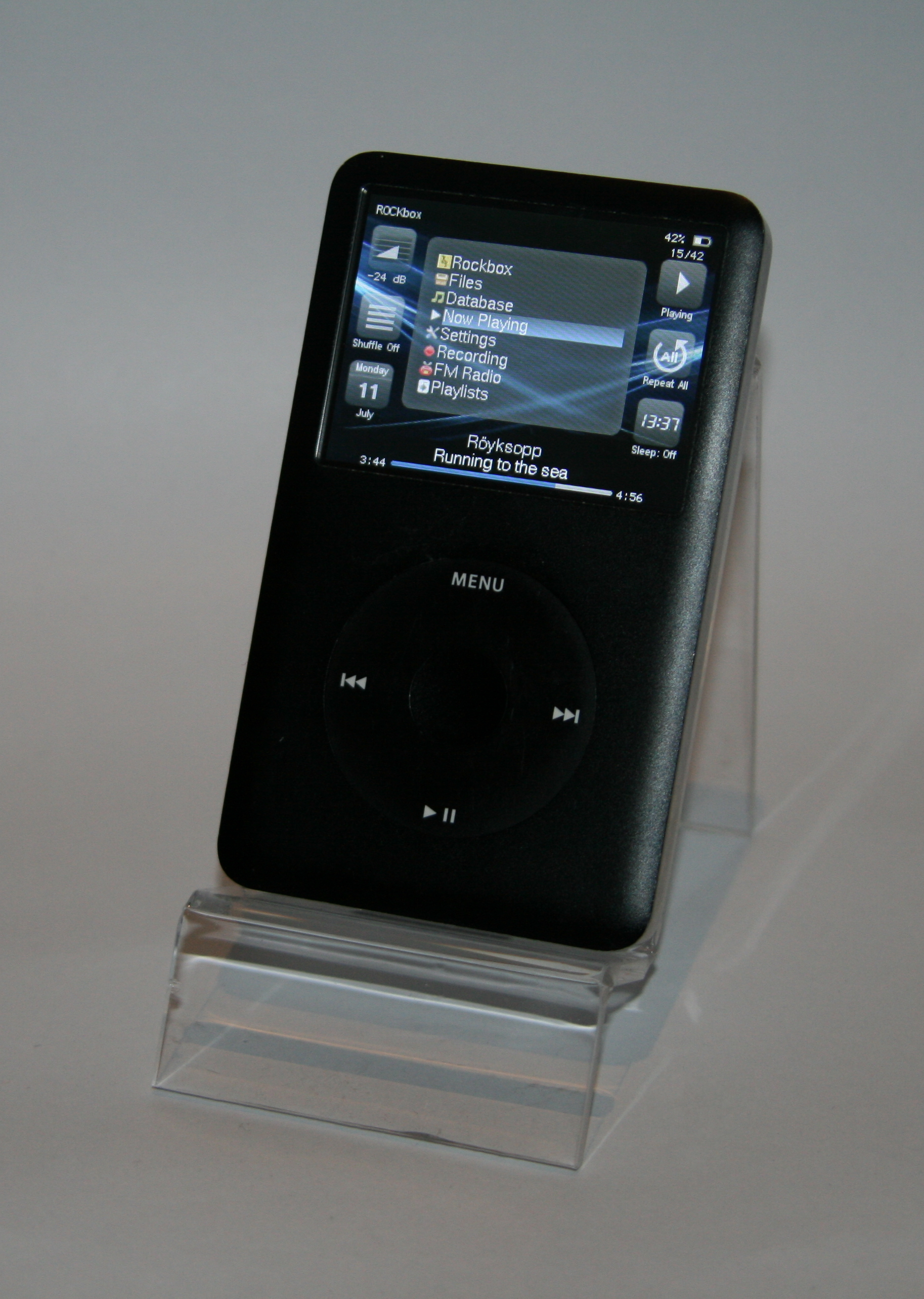 Ipod Classic 4th Generation Back