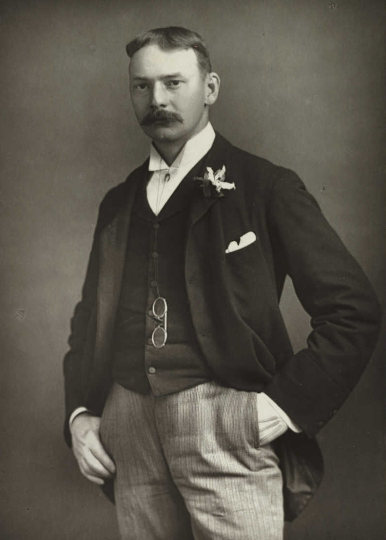 Photograph of Jerome published in the 1890s