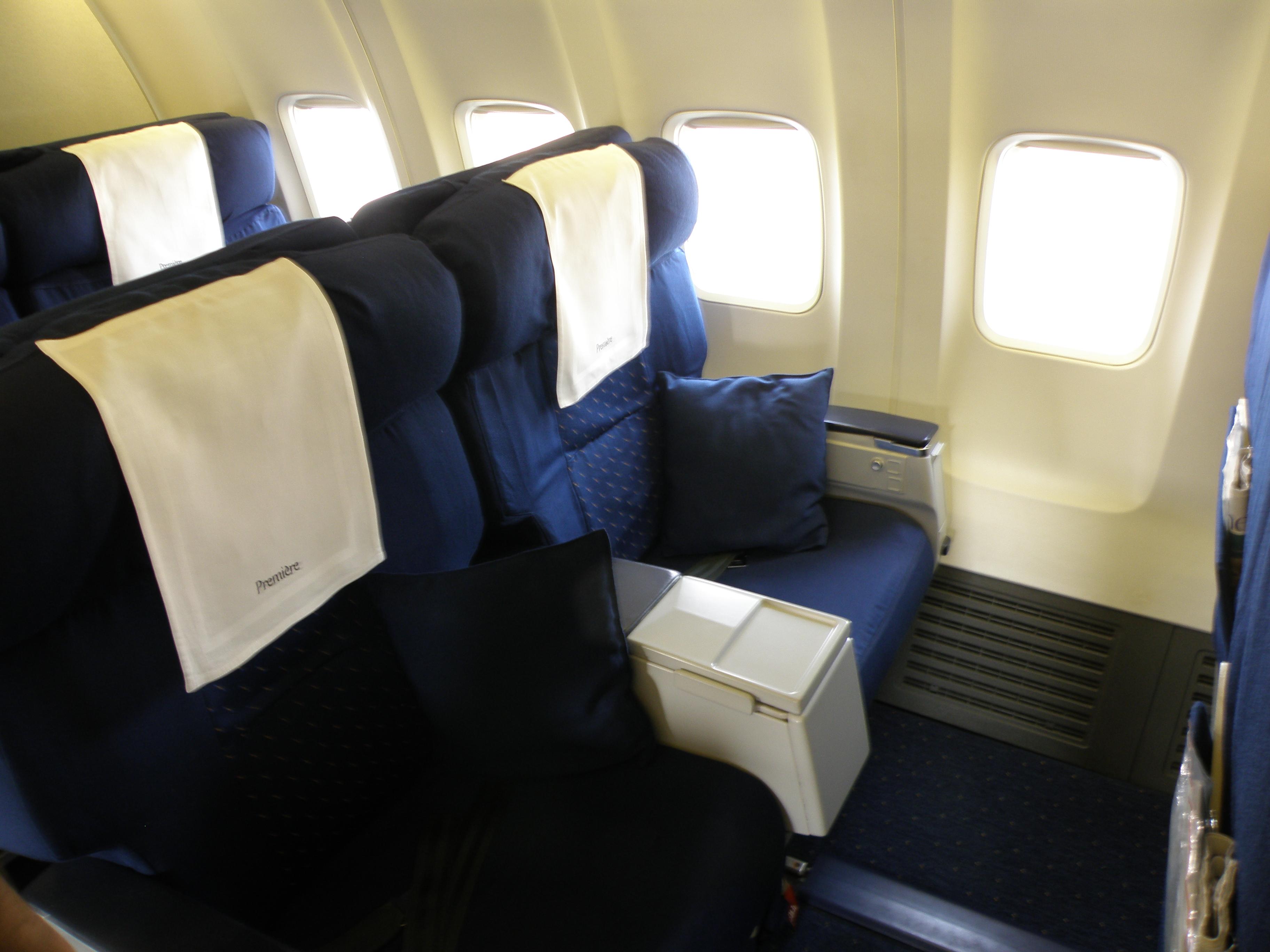 Description Jet Airways domestic première seats