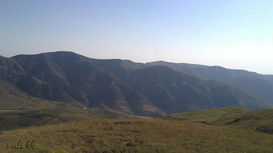 چشم انداز زیبا از طبیعت خان کندی