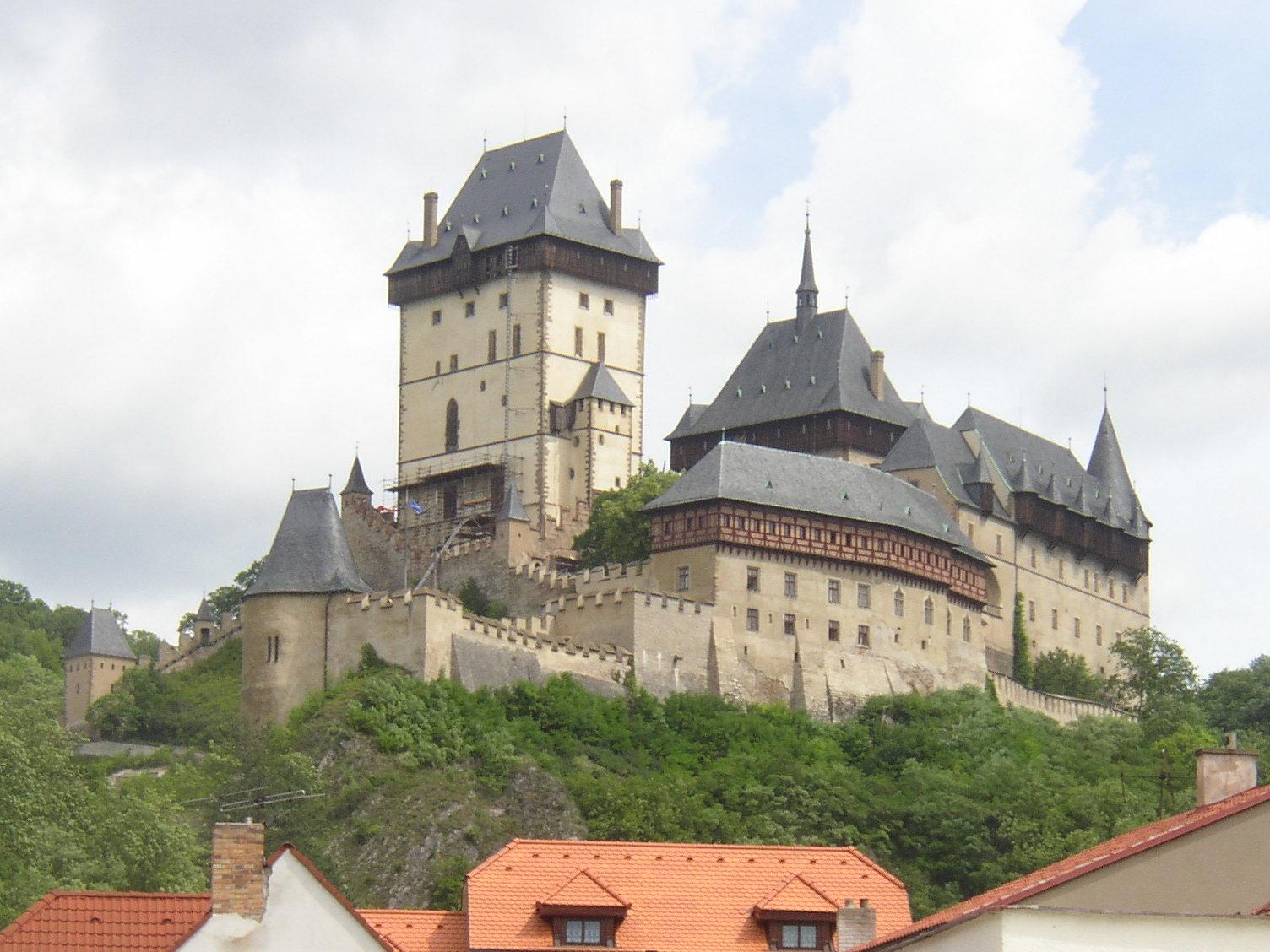 Karlstejn Czech Republic  City new picture : Karlstejn castle Czech Republic