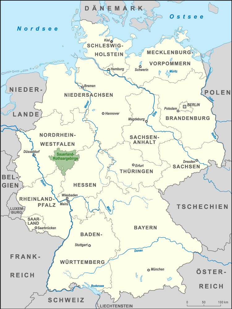 Sauerland Karte Deutschland.Datei Karte Naturpark Sauerland Rothaargebirge Png Wikipedia
