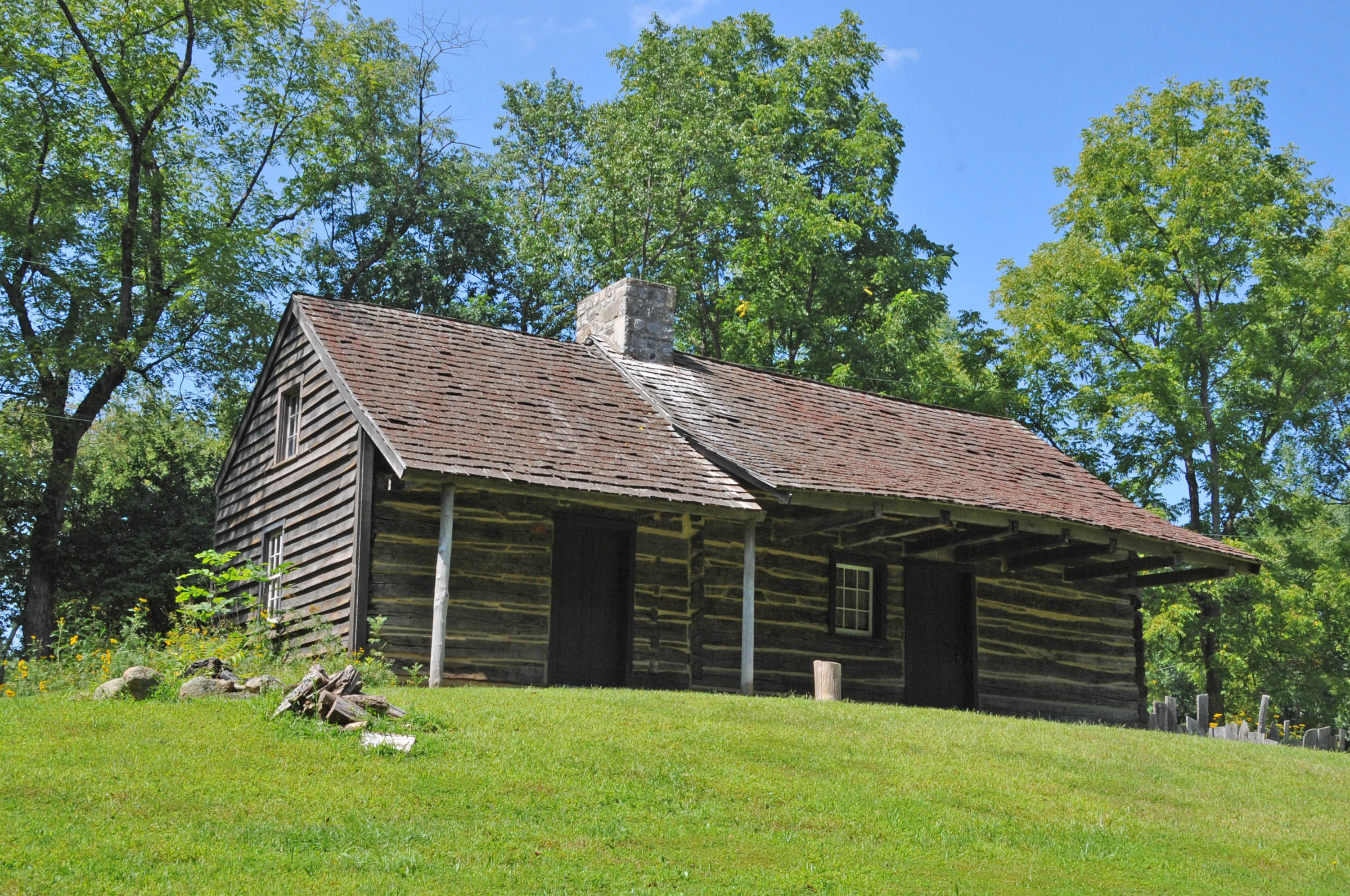 Attirant File:LOG CABIN AND FARM, SUSSEX COUNTY, NEW JERSEY