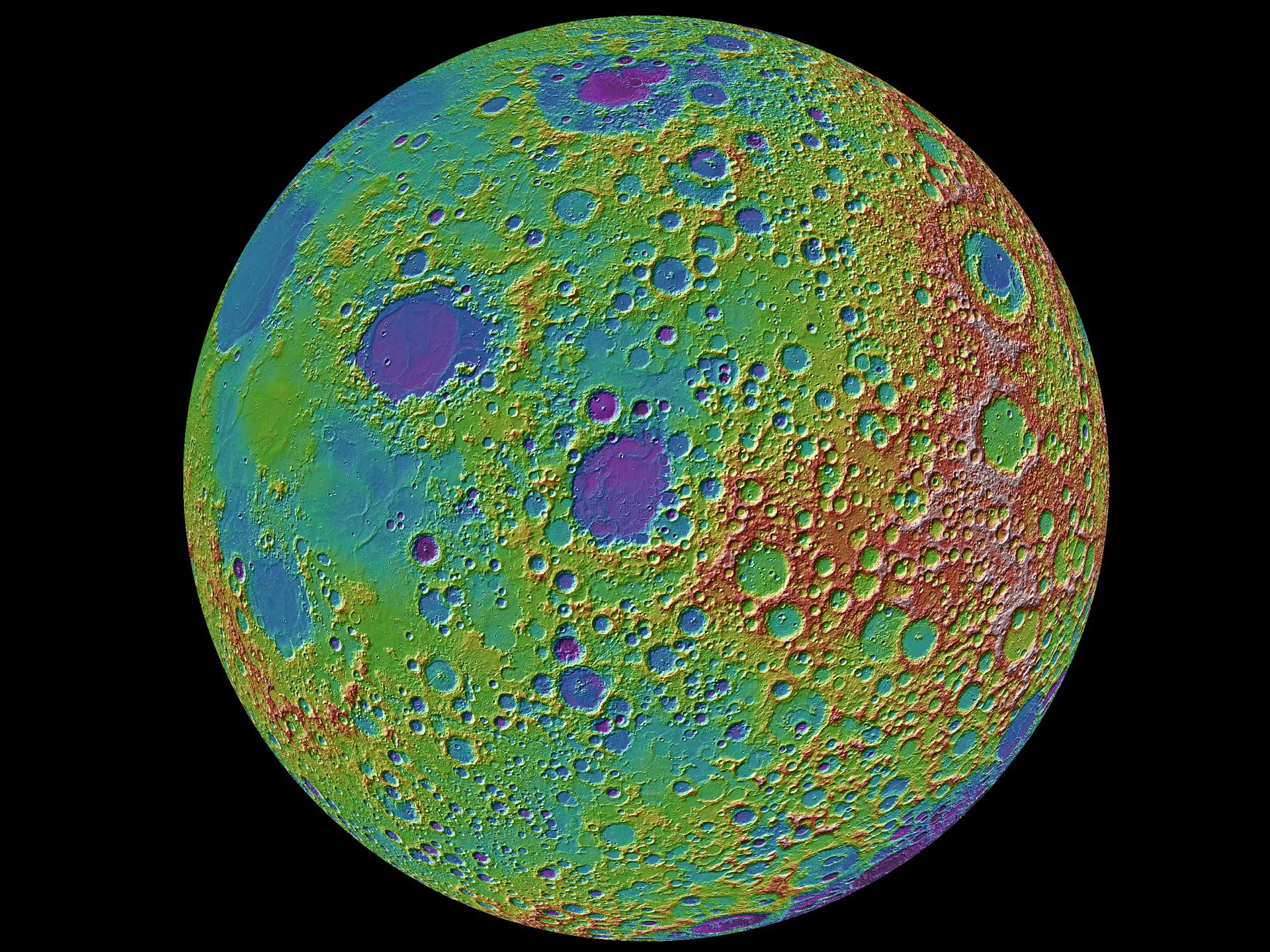 Moon's S-shaped orbit around earth is shaped