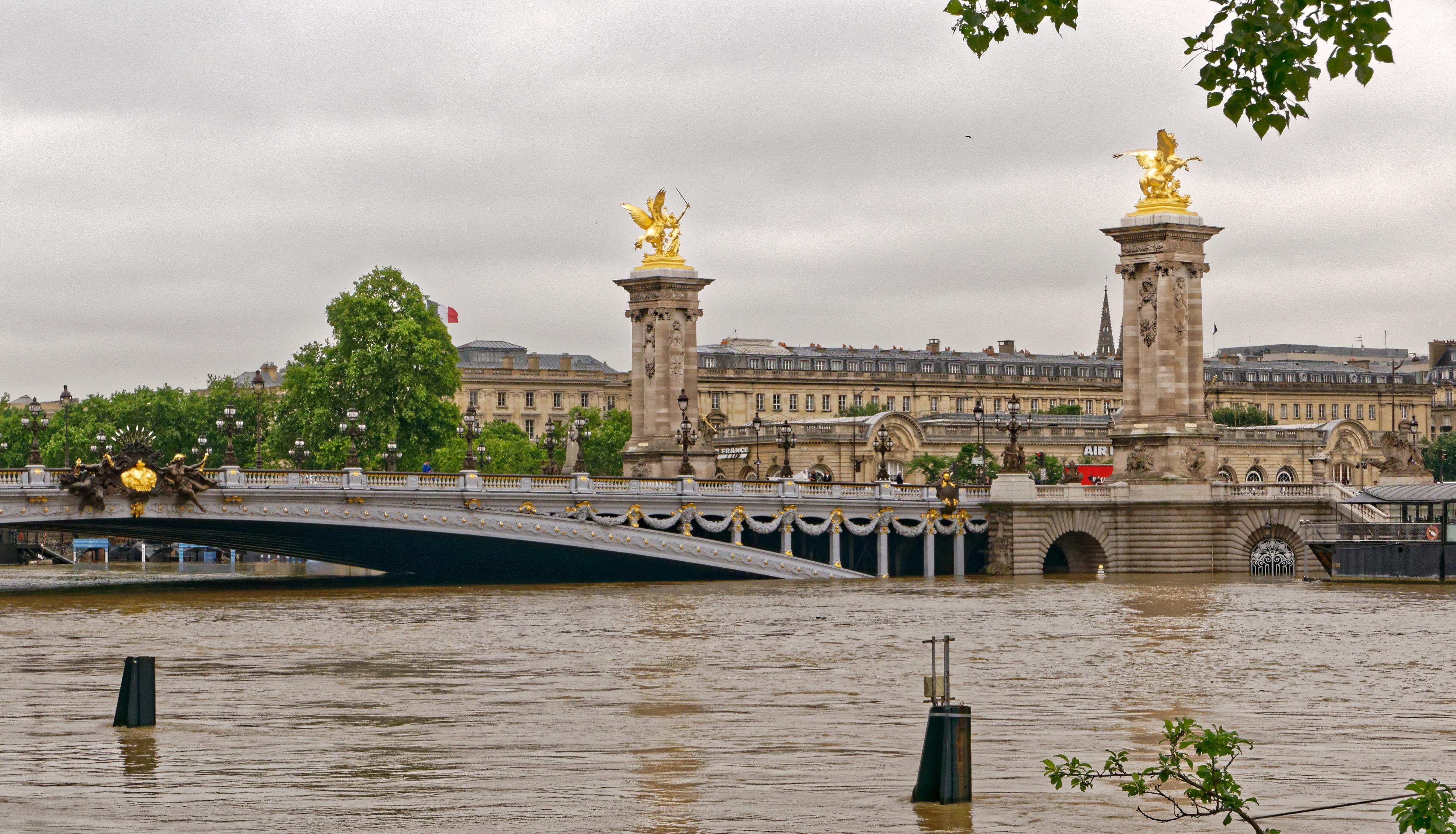 Pont De Lit 140 2016 european floods - wikipedia
