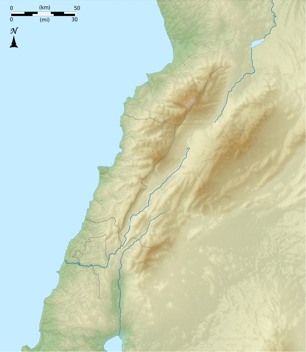 FileLebanon physical blank mappng Wikimedia Commons
