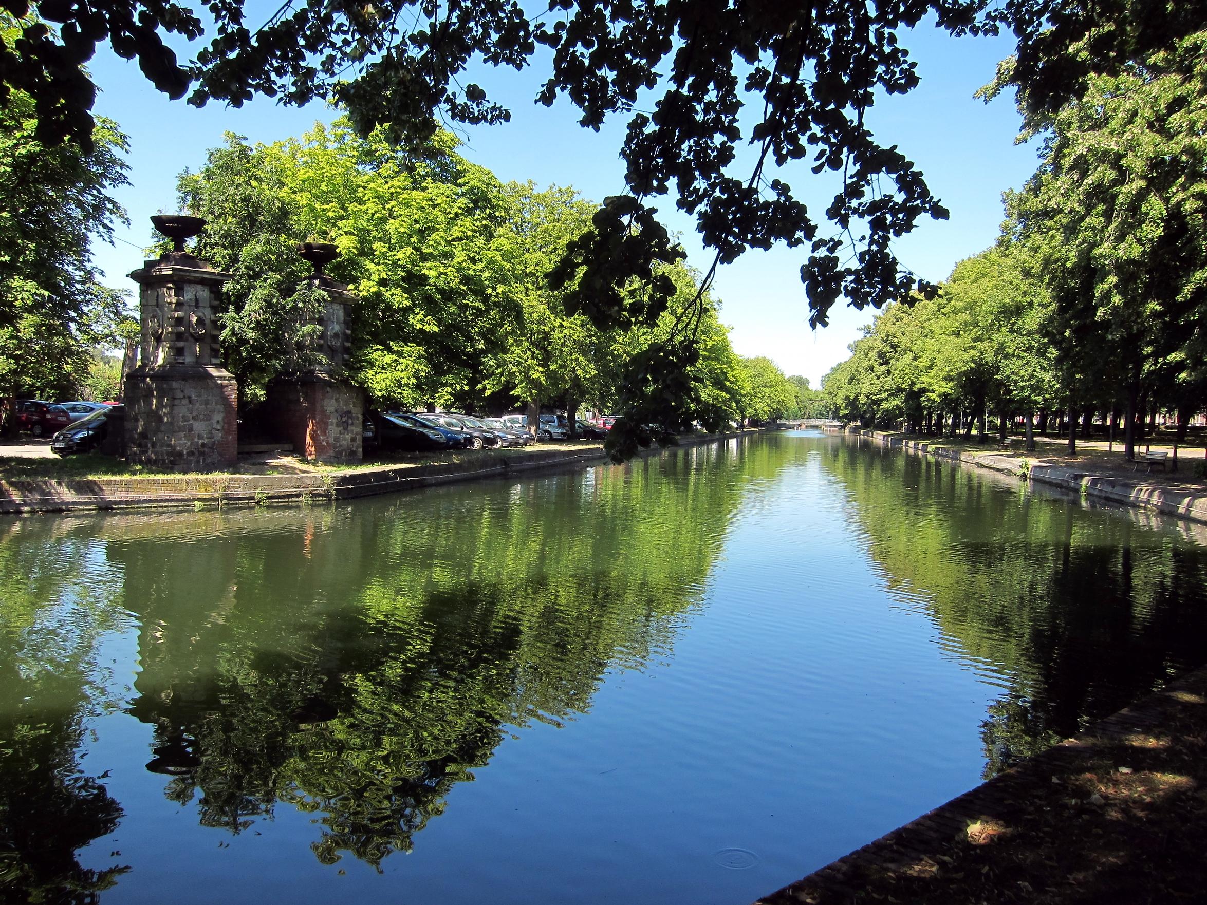 File lille canal basse deule jpg wikimedia commons for Entretien jardin quesnoy sur deule