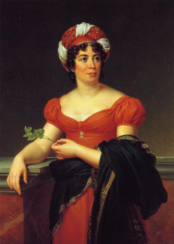 Madame de Stael. Francois Pascal Simon Gerard (1770-1837).
