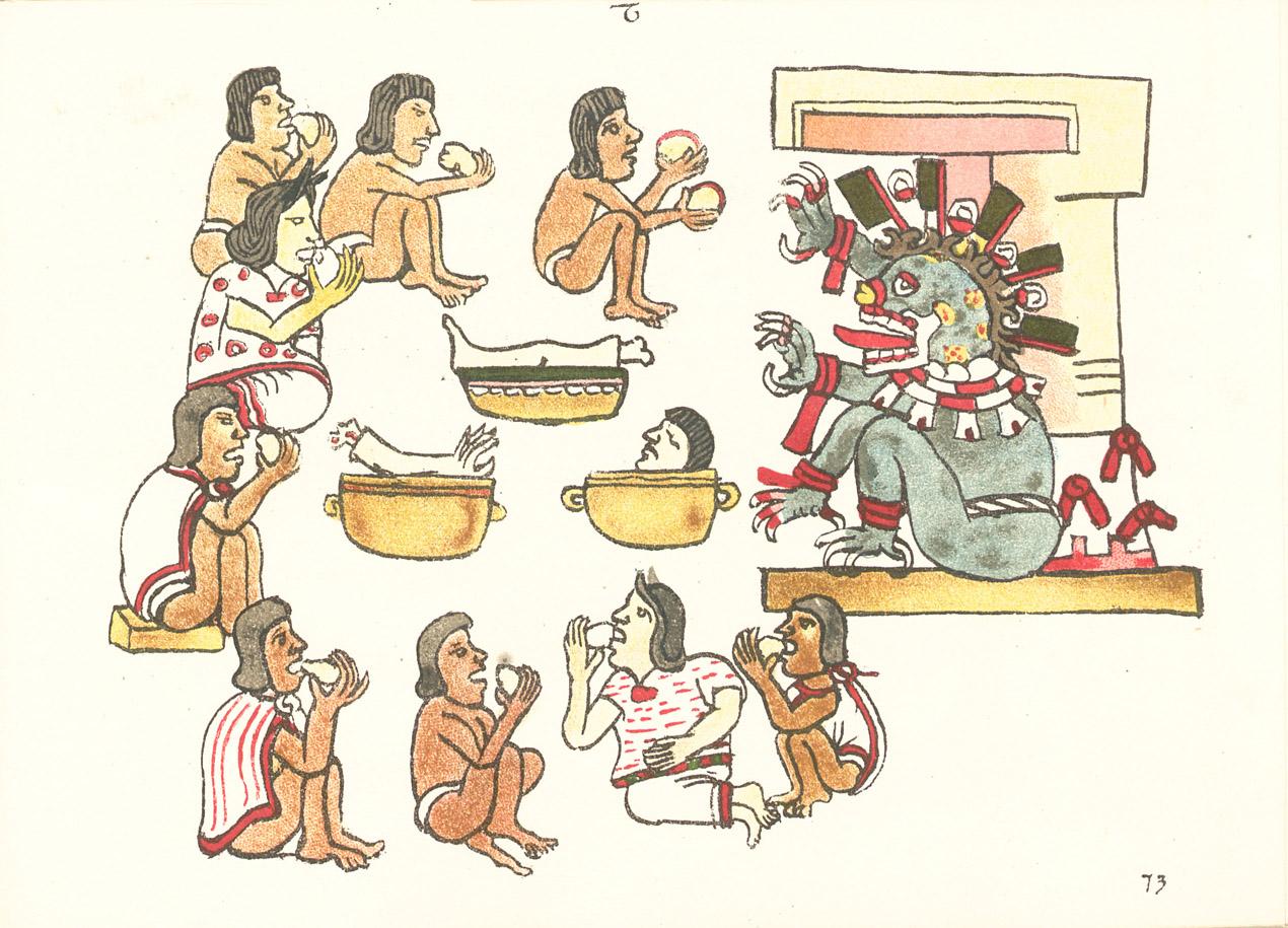 Antropofagia en Mesoamérica - Wikipedia, la enciclopedia libre
