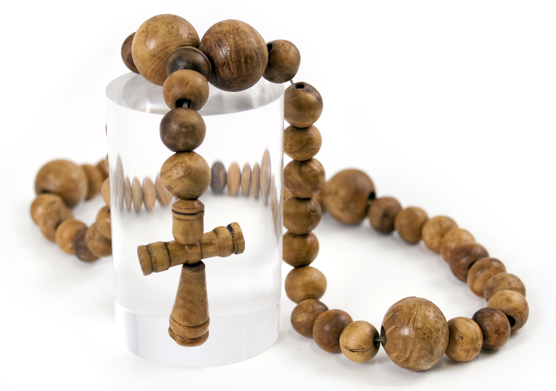Rose Rosary Beads Tattoo Designs