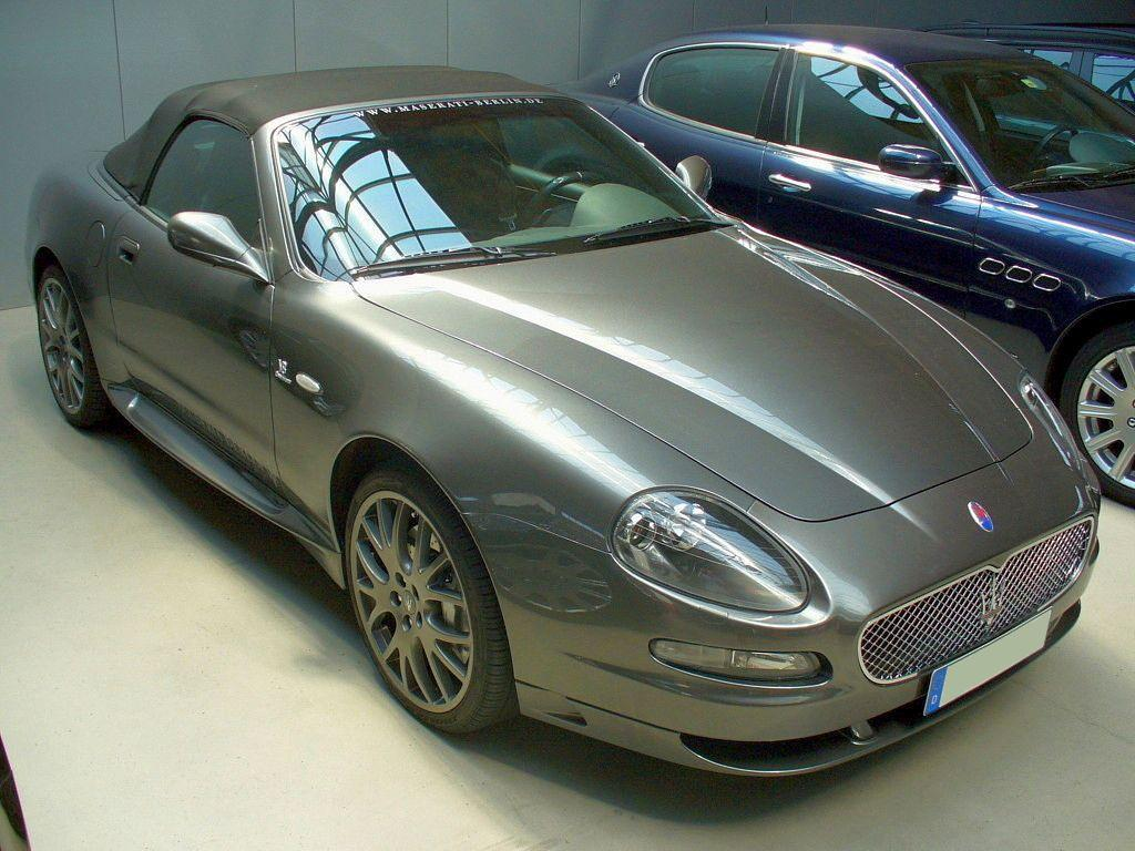 File:Maserati GranSport Spyder.jpg - Wikipedia
