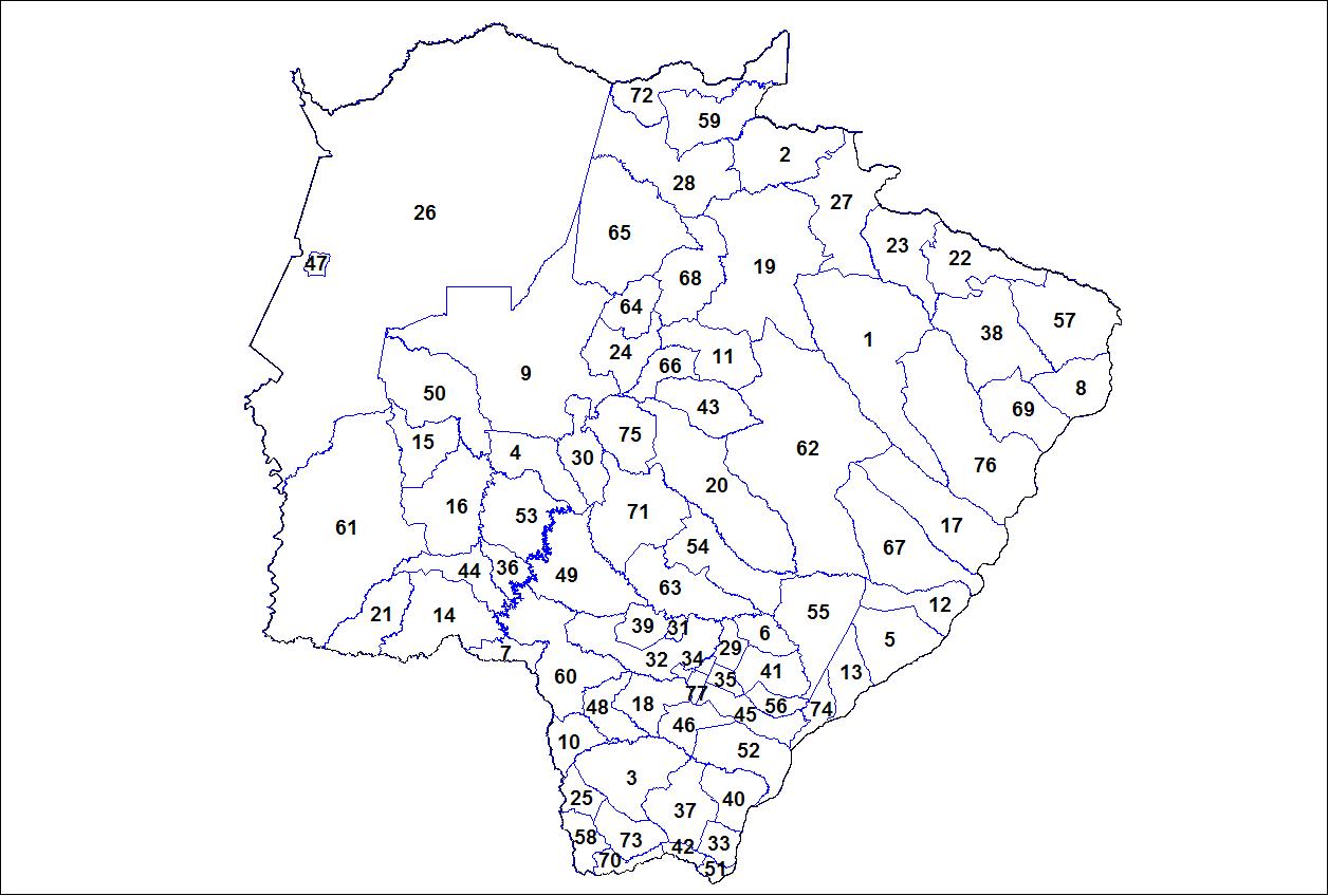 List of municipalities in Mato Grosso do Sul - Wikipedia