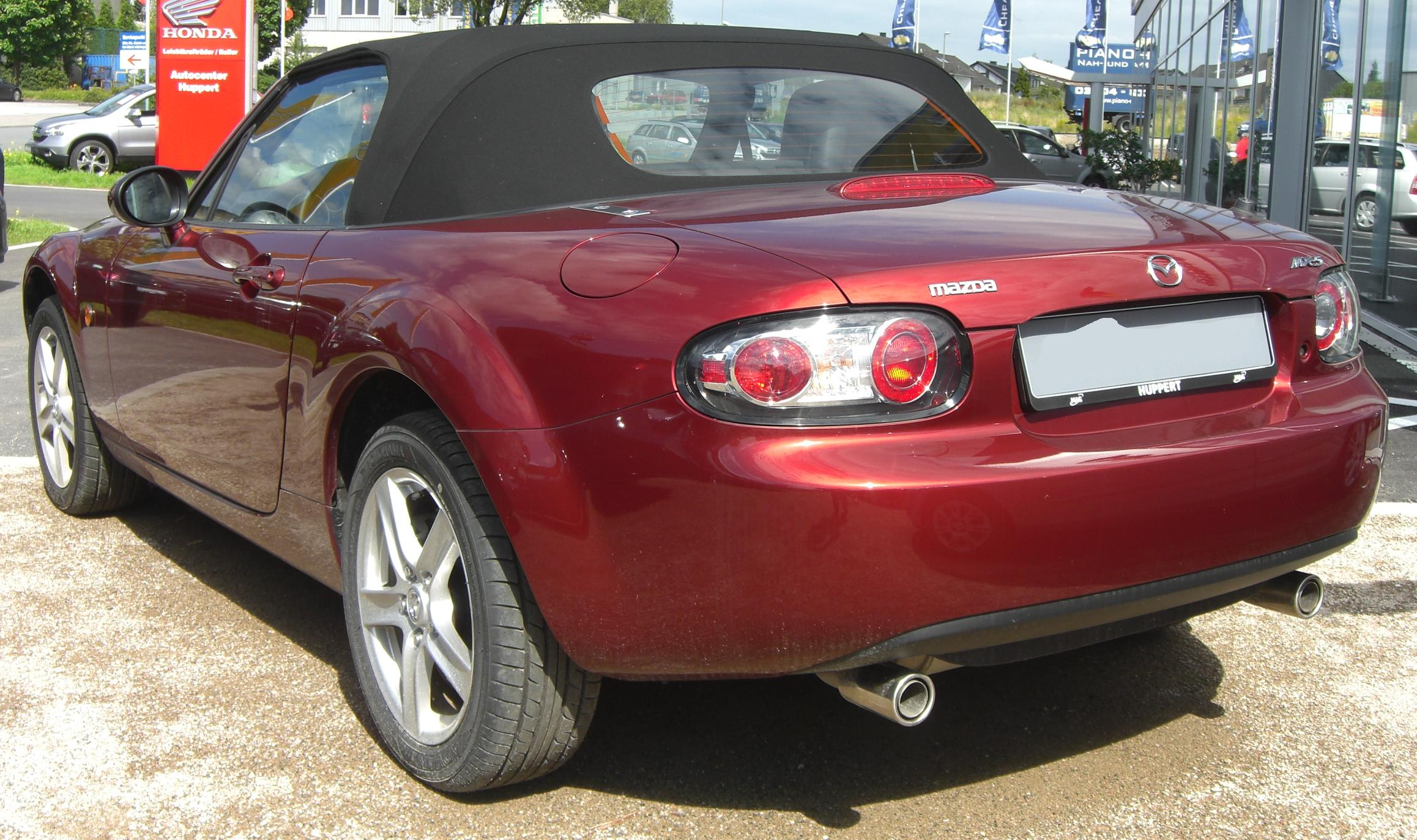 file mazda mx 5 nc wikimedia commons. Black Bedroom Furniture Sets. Home Design Ideas