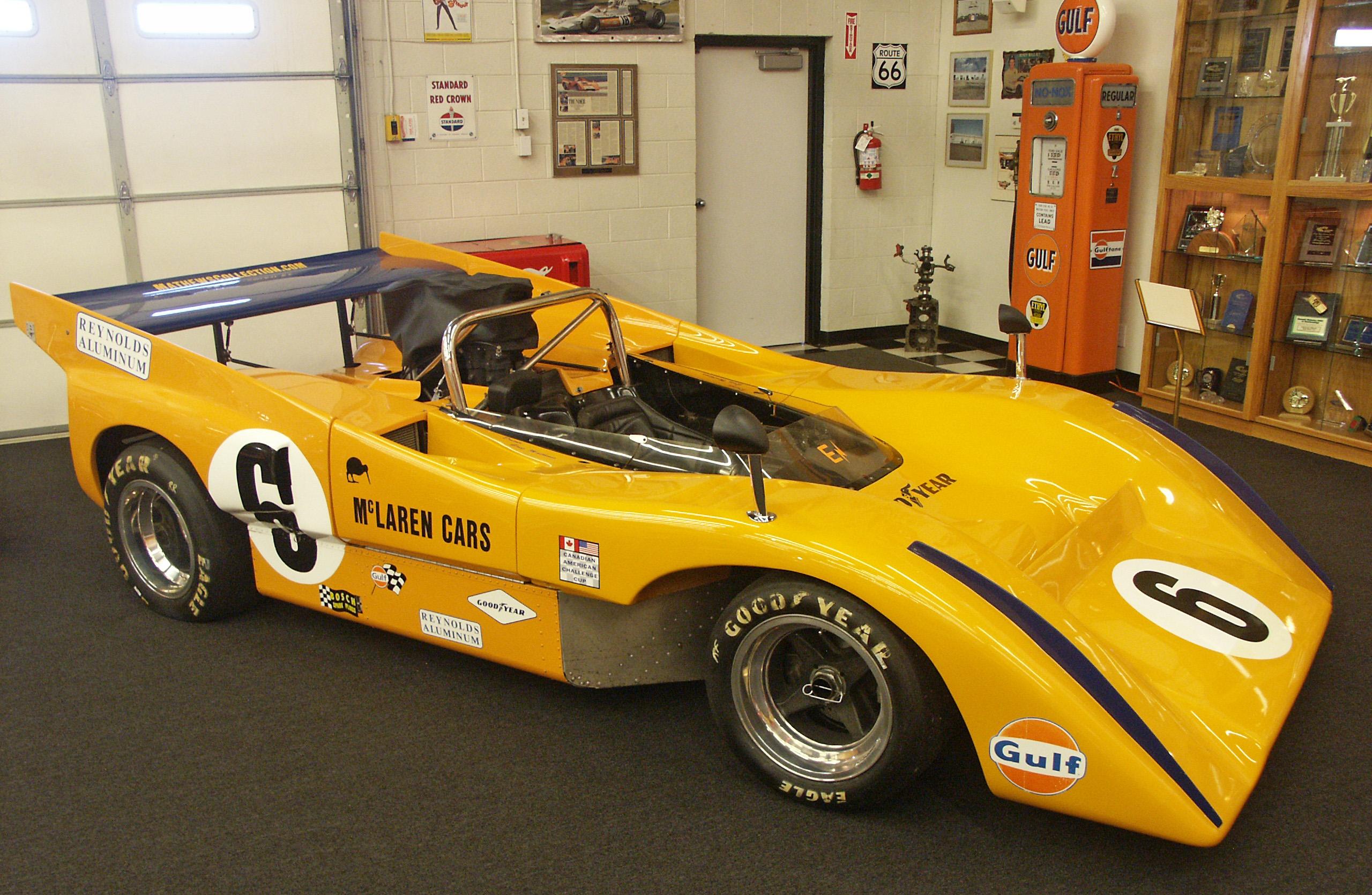 Can Am Car >> Mclaren M8a Wikipedia