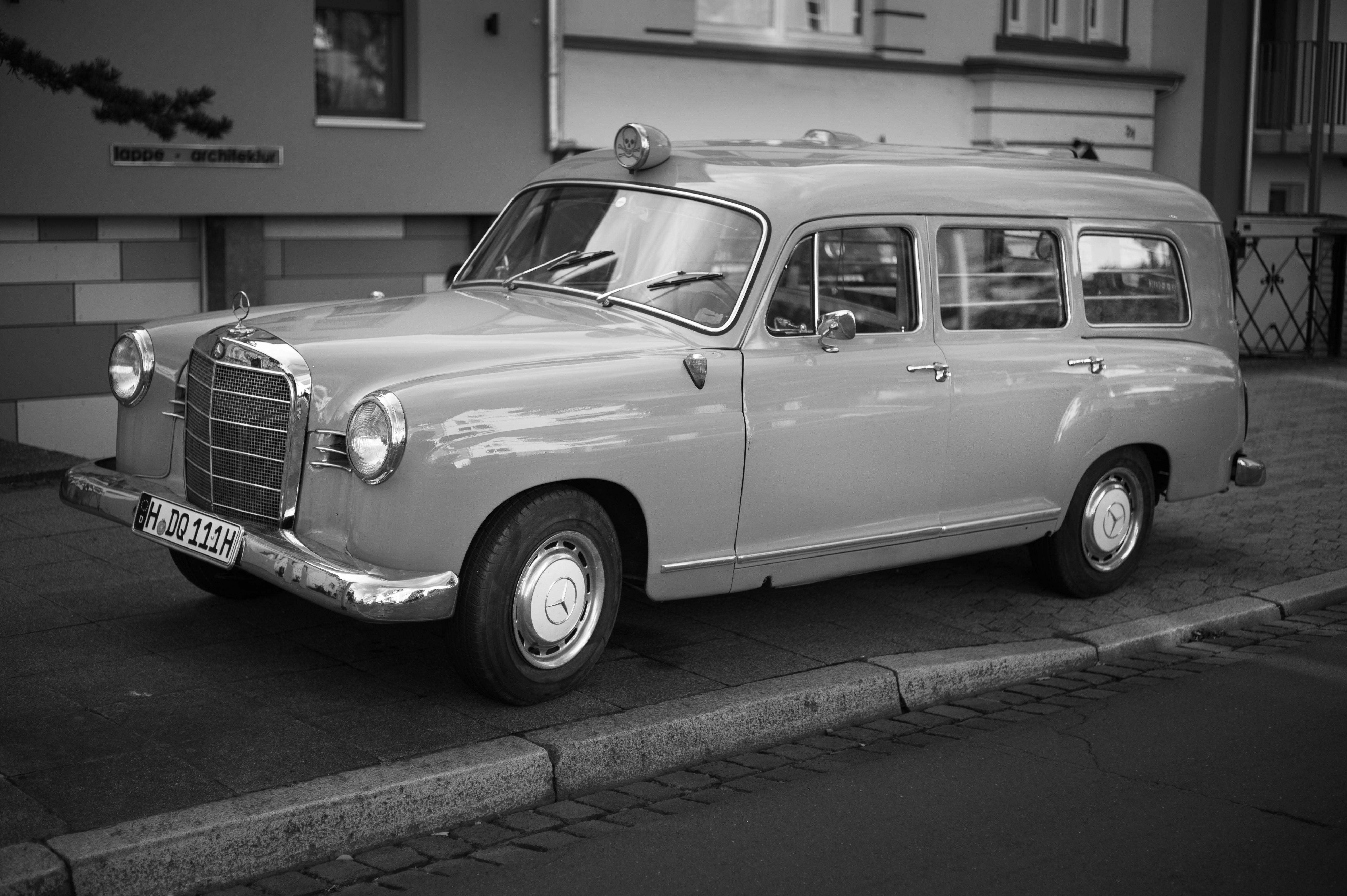 Modellauto Mercedes A Klasse Silber