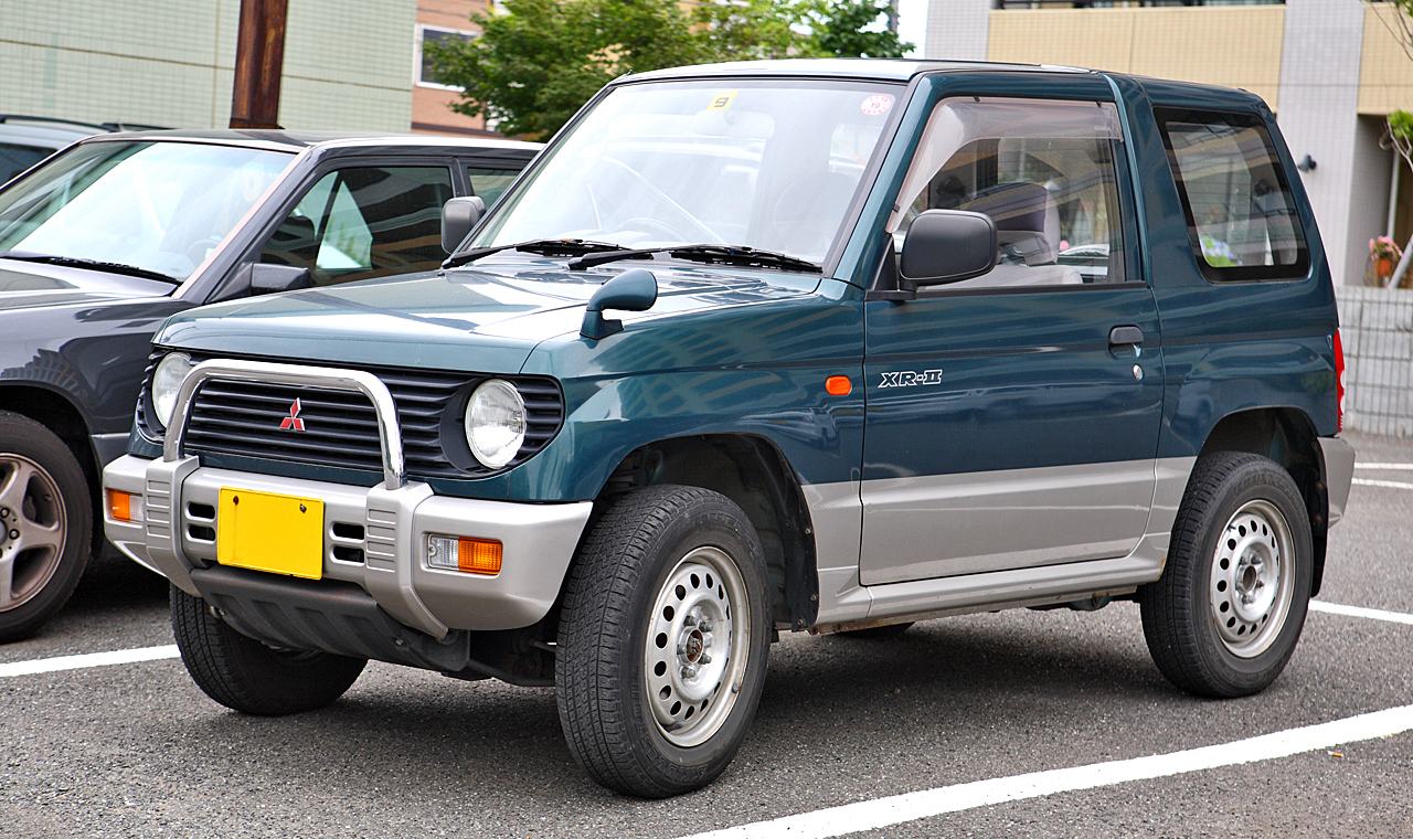 the mitsubishi pajero mini has become my favorite kei car cars
