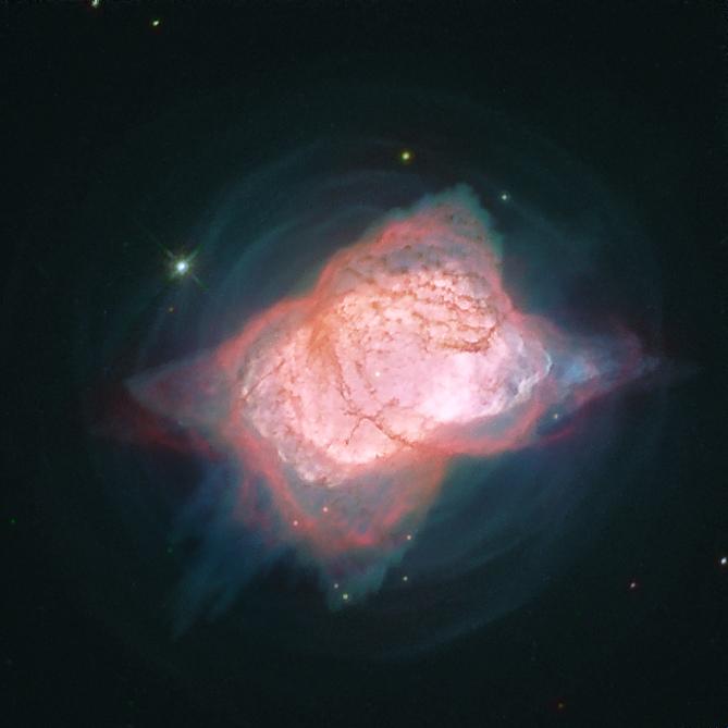 Aufnahme des Hubble-Weltraumteleskops