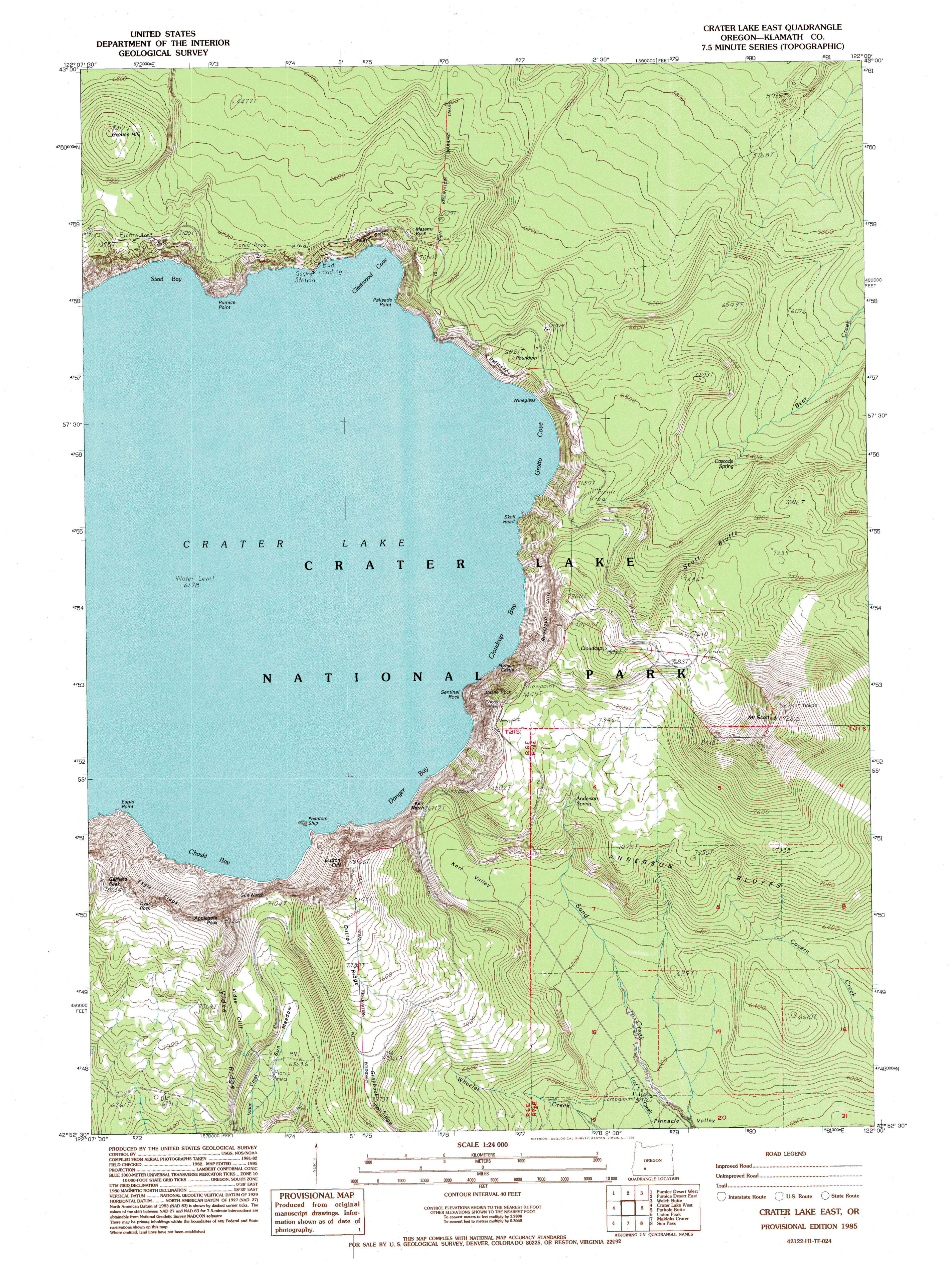 File:NPS crater lake east topo map.   Wikimedia Commons