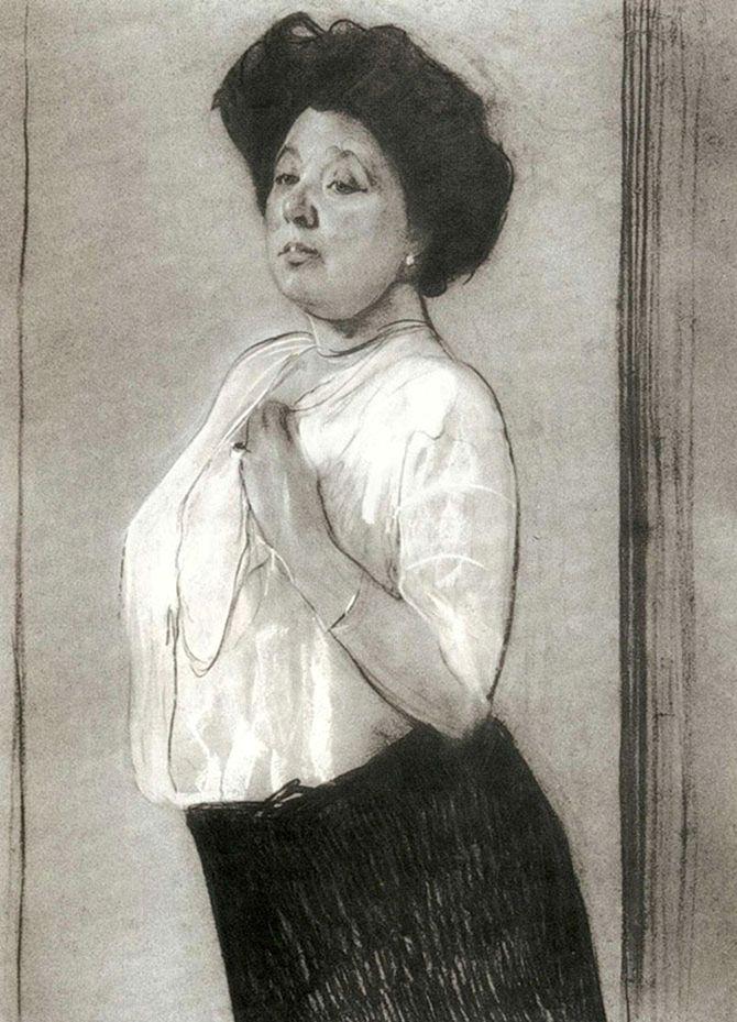 Nadezhda Lamanova by Valentin Serov 1911.jpg