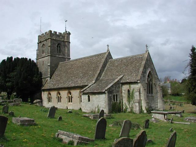Nympsfield (Glos) St Bartholomew's Church