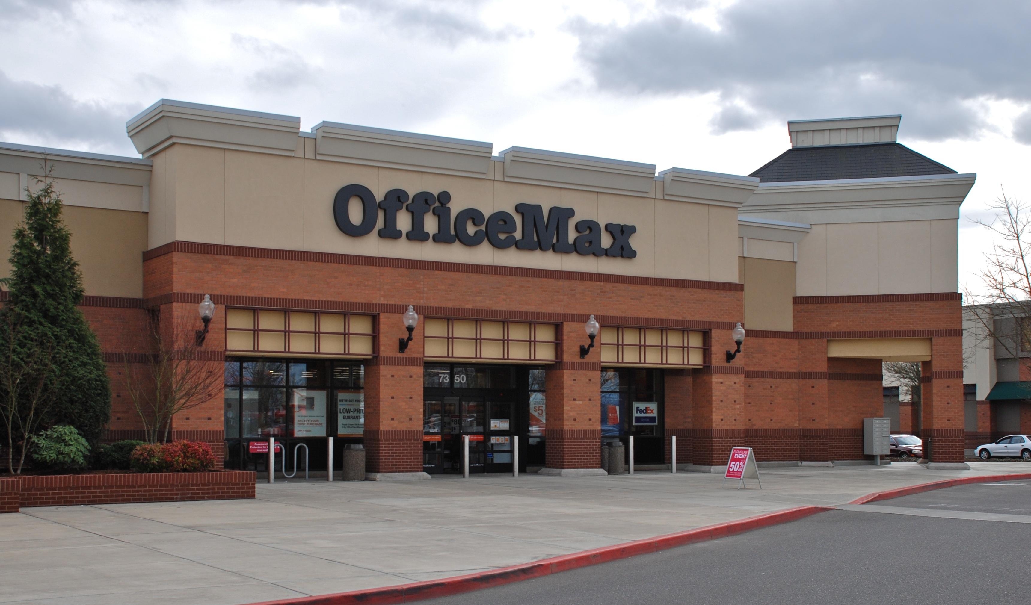 File:OfficeMax At Crossroads At Orenco Station   Hillsboro, Oregon