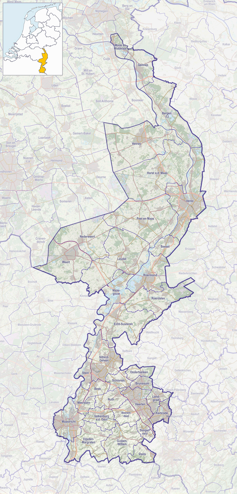 Spiksplinternieuw Milsbeek - Wikipedia YW-49