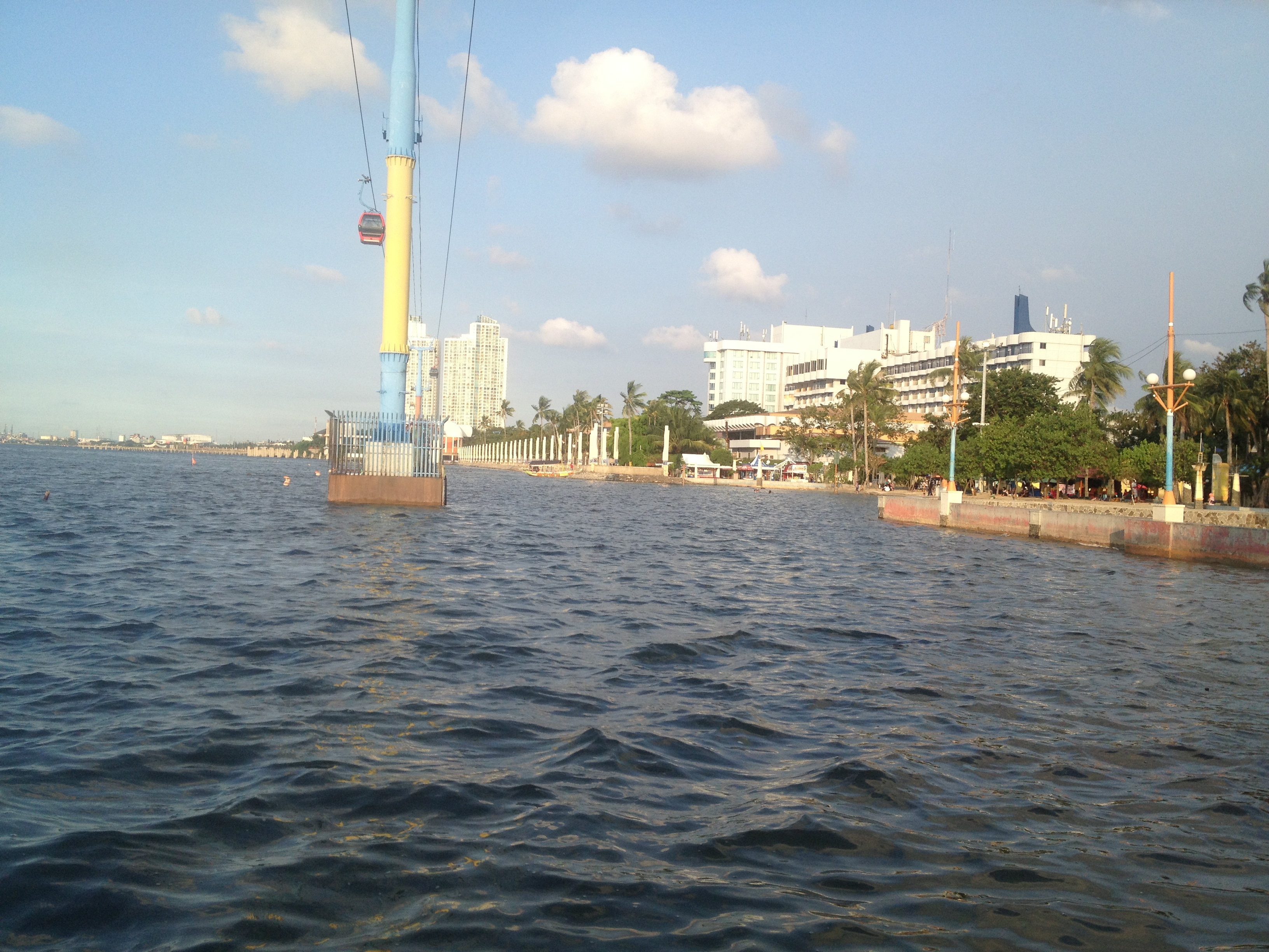 Ancol Beach, North Jakarta, Indonesia