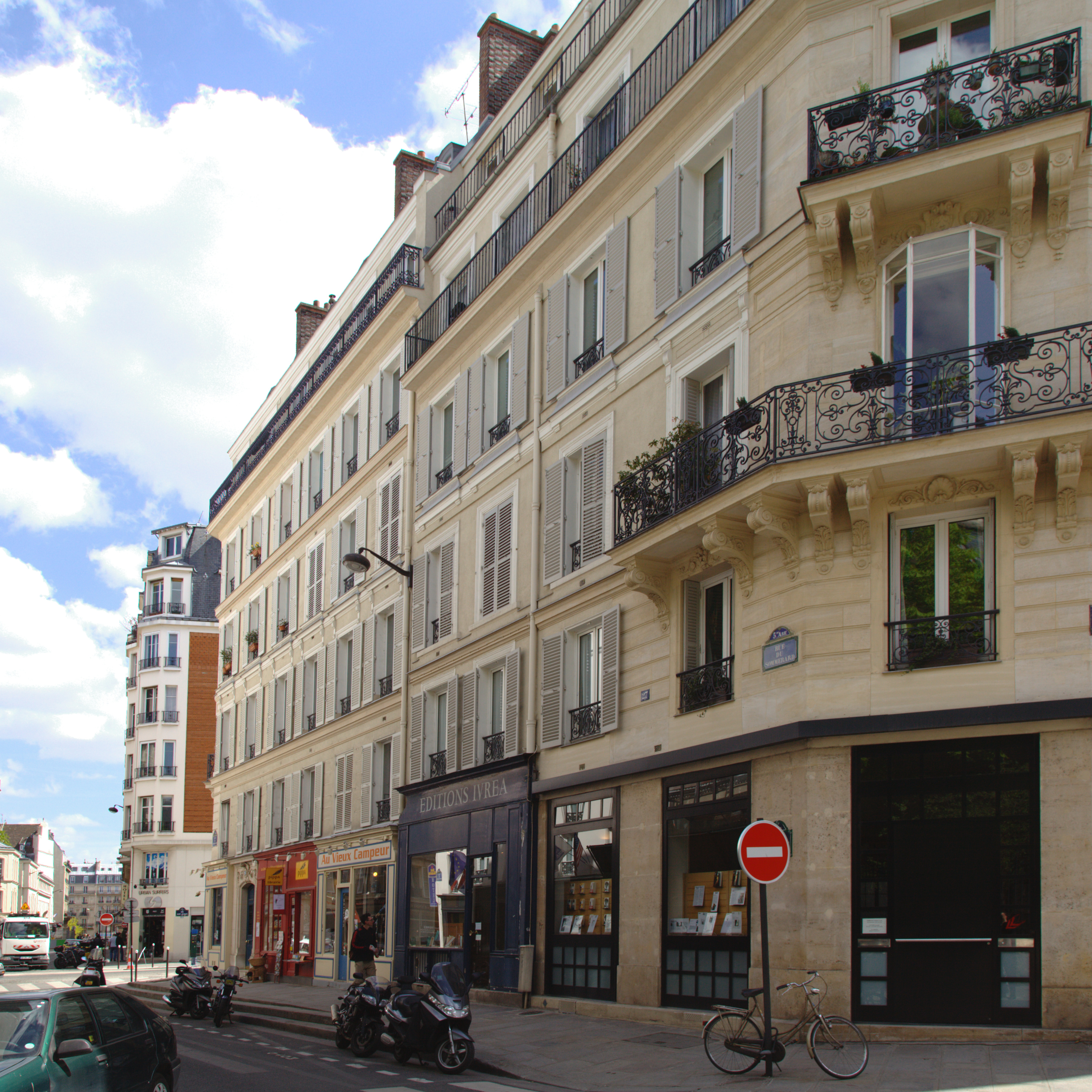 Rue du sommerard wikiwand for Flat hotel paris