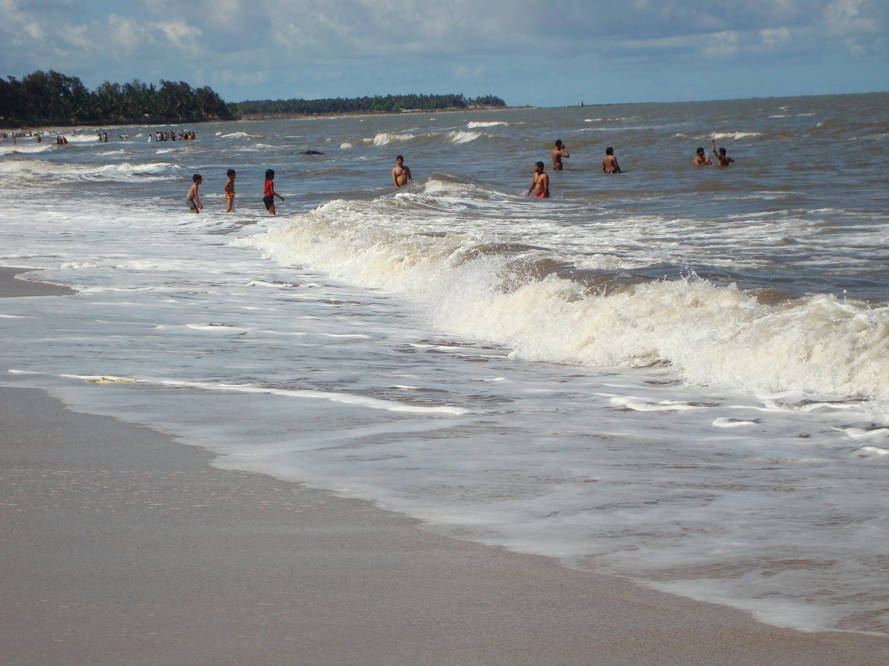 People enjoying on Kihim Beach.JPG
