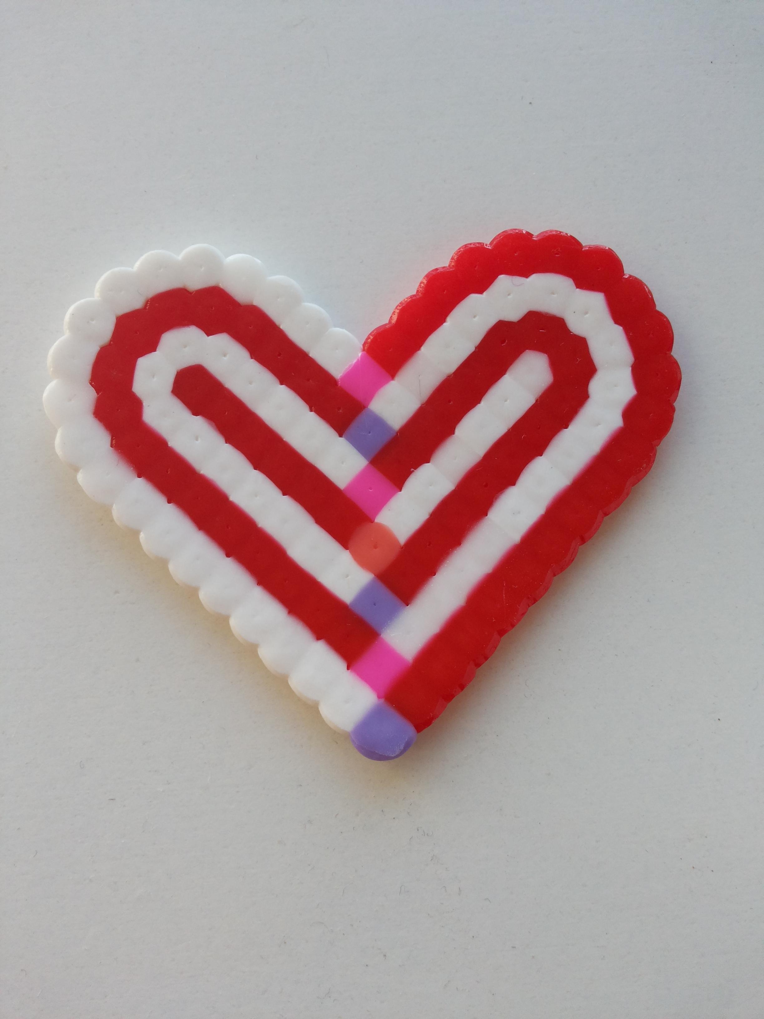 File:Perler bead heart fused side jpg - Wikimedia Commons