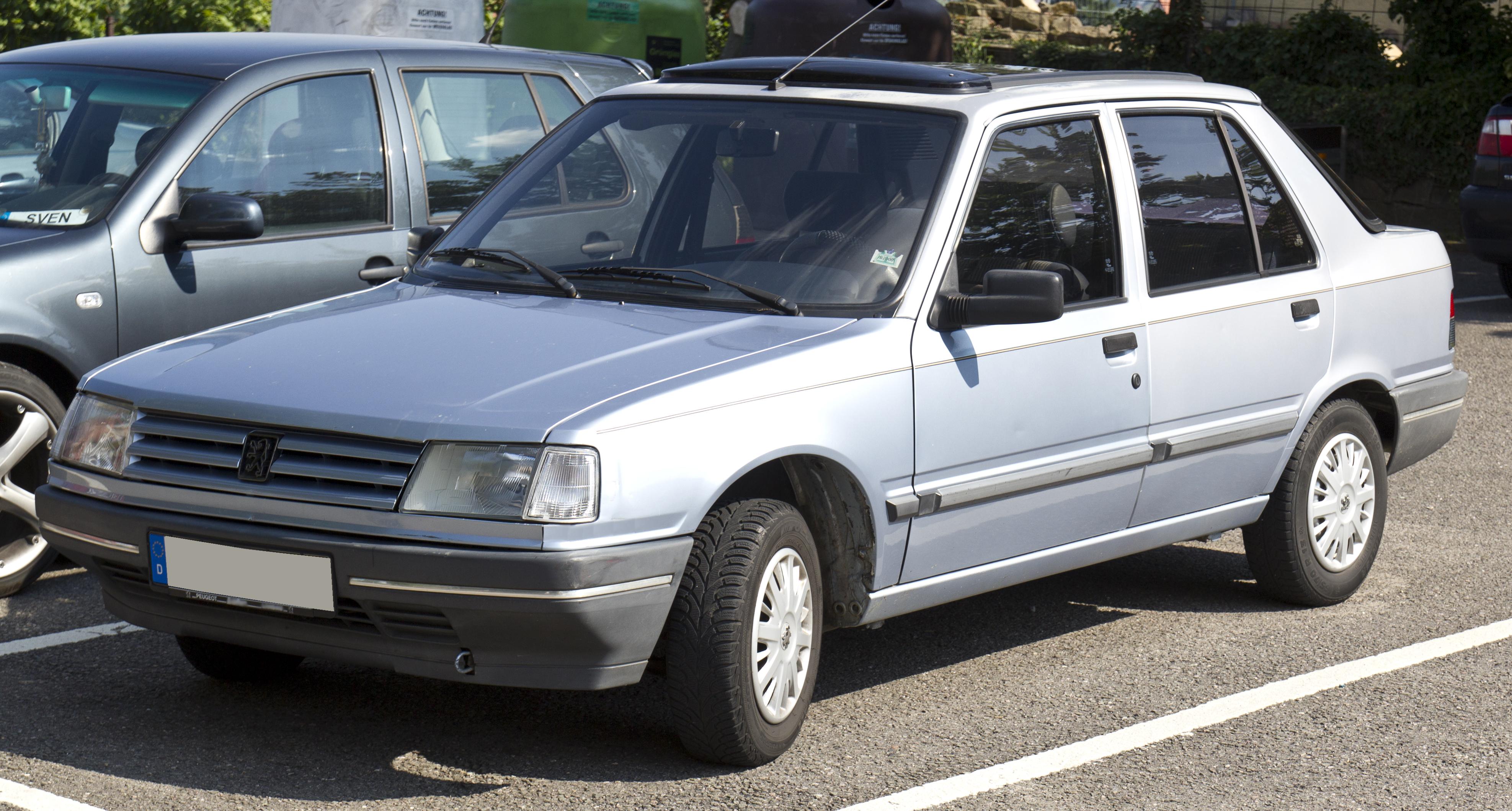 File Peugeot 309 Gr Front 20140731 Jpg Wikimedia Commons