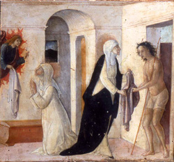 Piero della Francesca, St Catherine's Visions of Christ