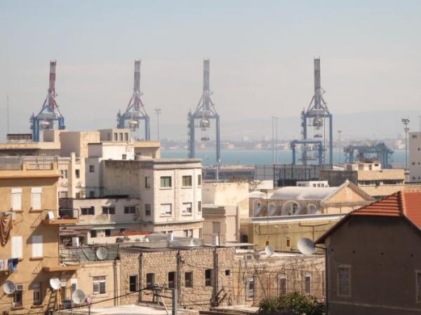 מבט למפרץ חיפה