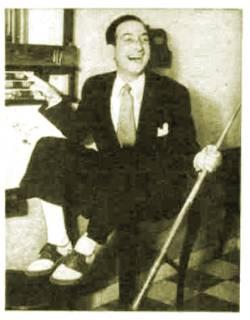 Depiction of Fidel Pintos