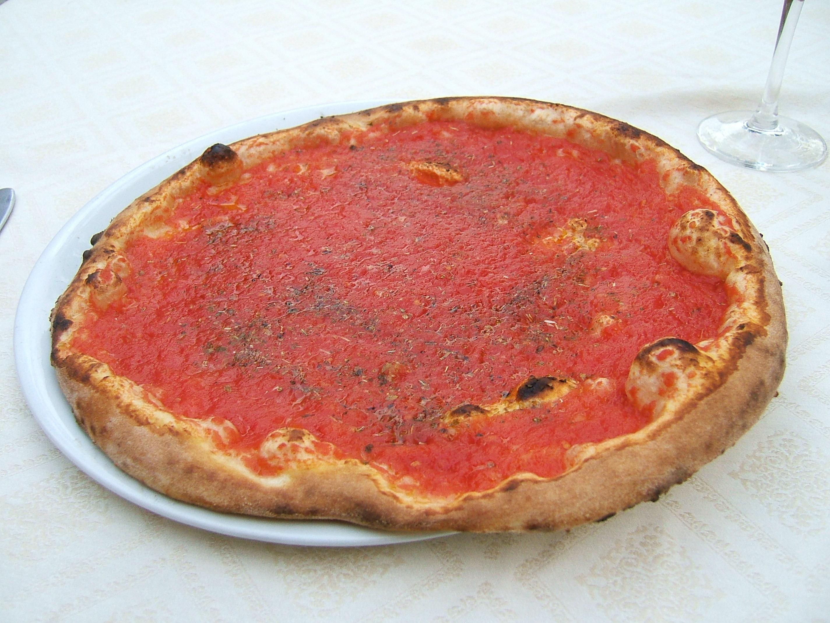 Ricetta Pizza Napoletana Originale Tradizionale.Pizza Marinara Wikipedia