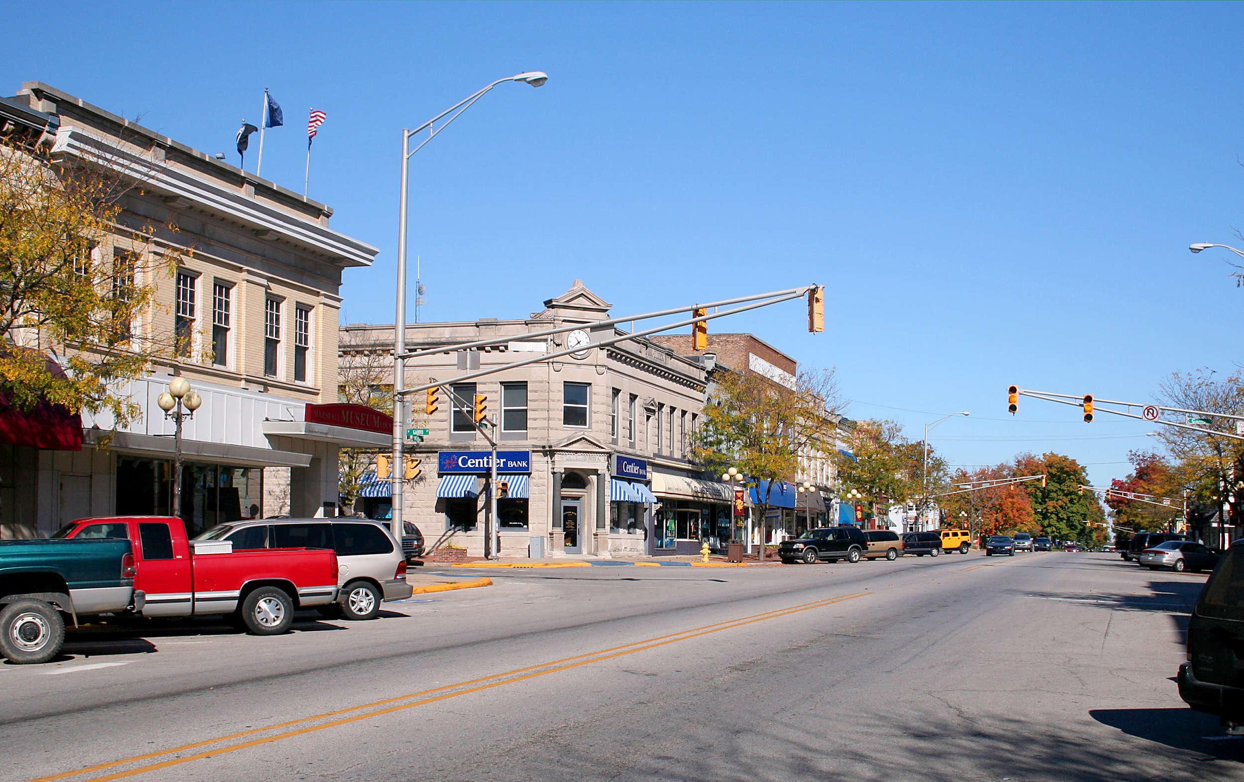 File Plymouth Indiana Downtown Jpg Wikimedia Commons
