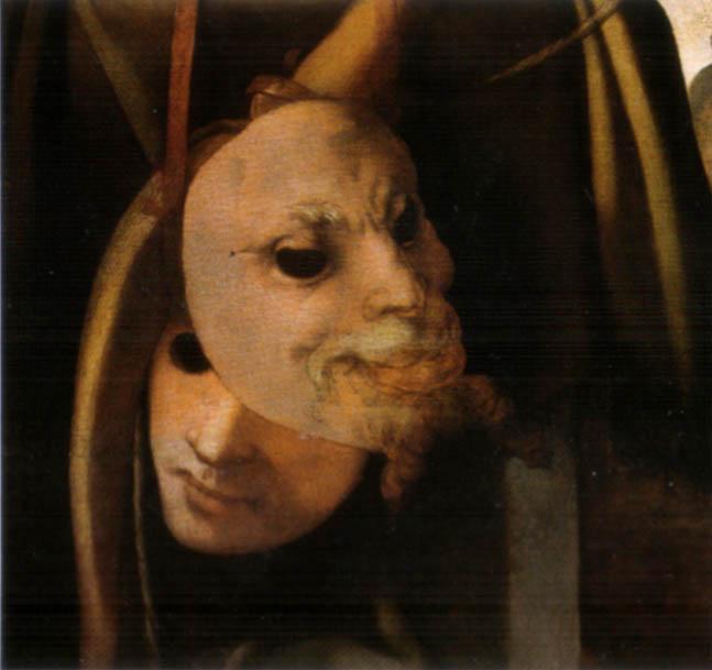 Pontormo su disegno di Michelangelo Buonarroti, Venere e Amore (dettaglio), 1533 circa, olio su tavola, 128 × 194 cm, Galleria dell'Accademia, Firenze