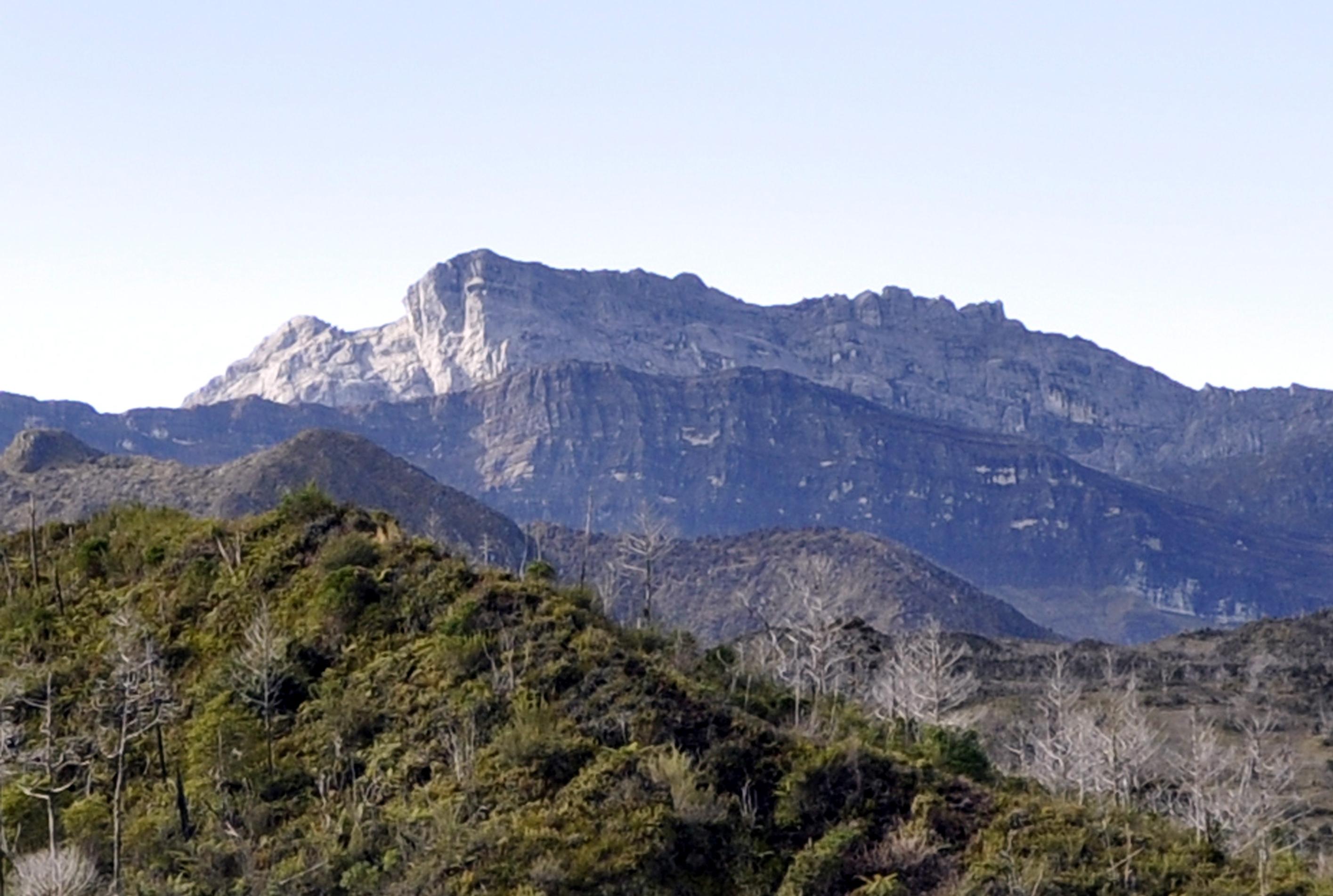 gunung tertinggi di Indonesia puncak trikora