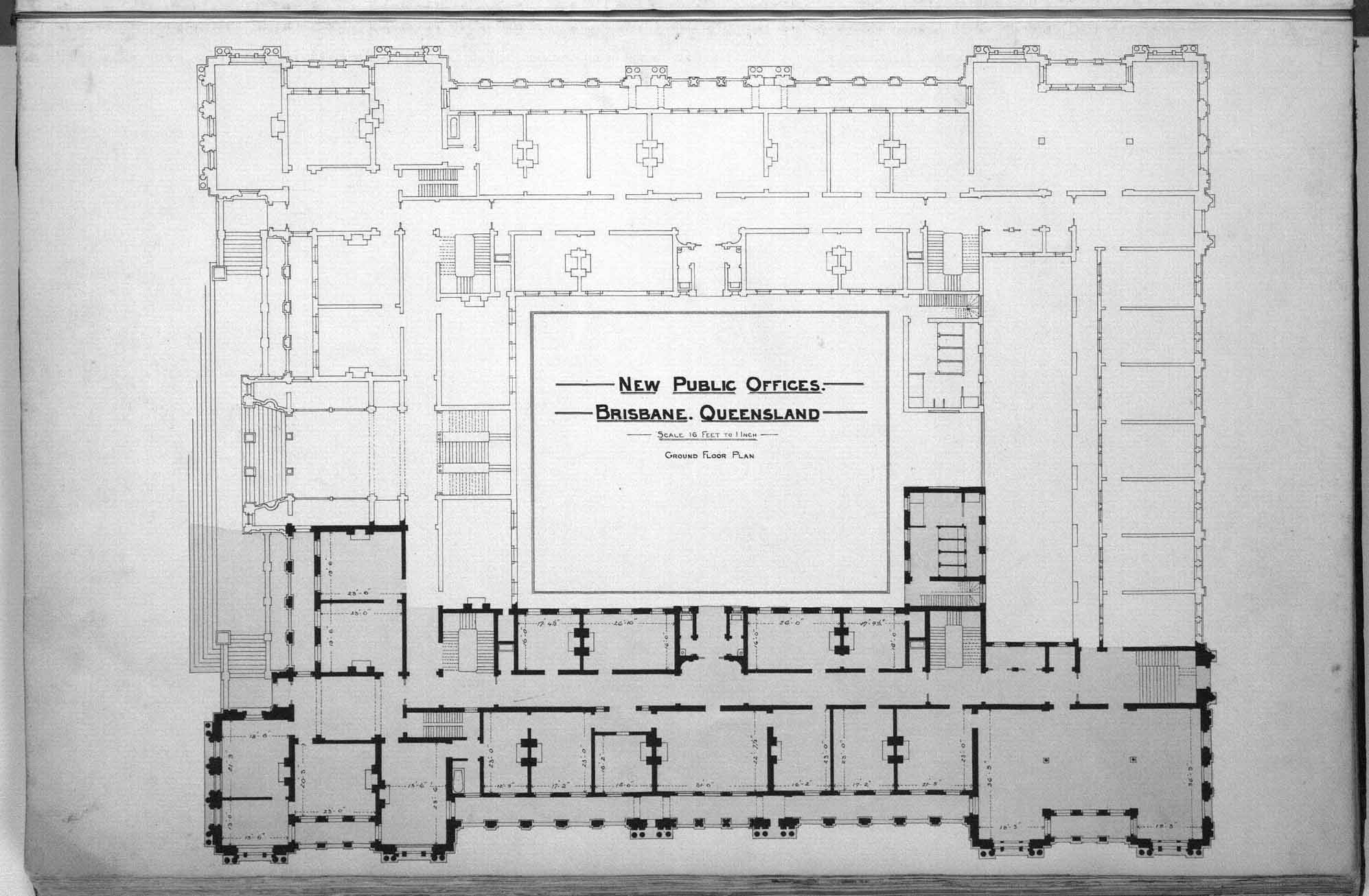 File:Queensland State Archives 2571 Architectural plan of