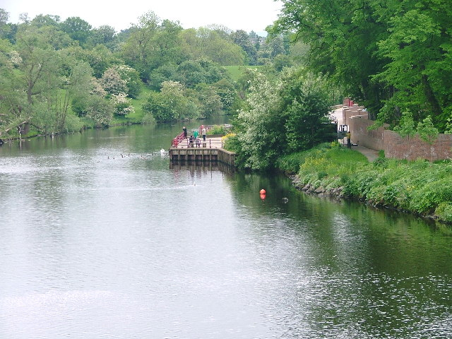 River Tees, Yarm - geograph.org.uk - 12900