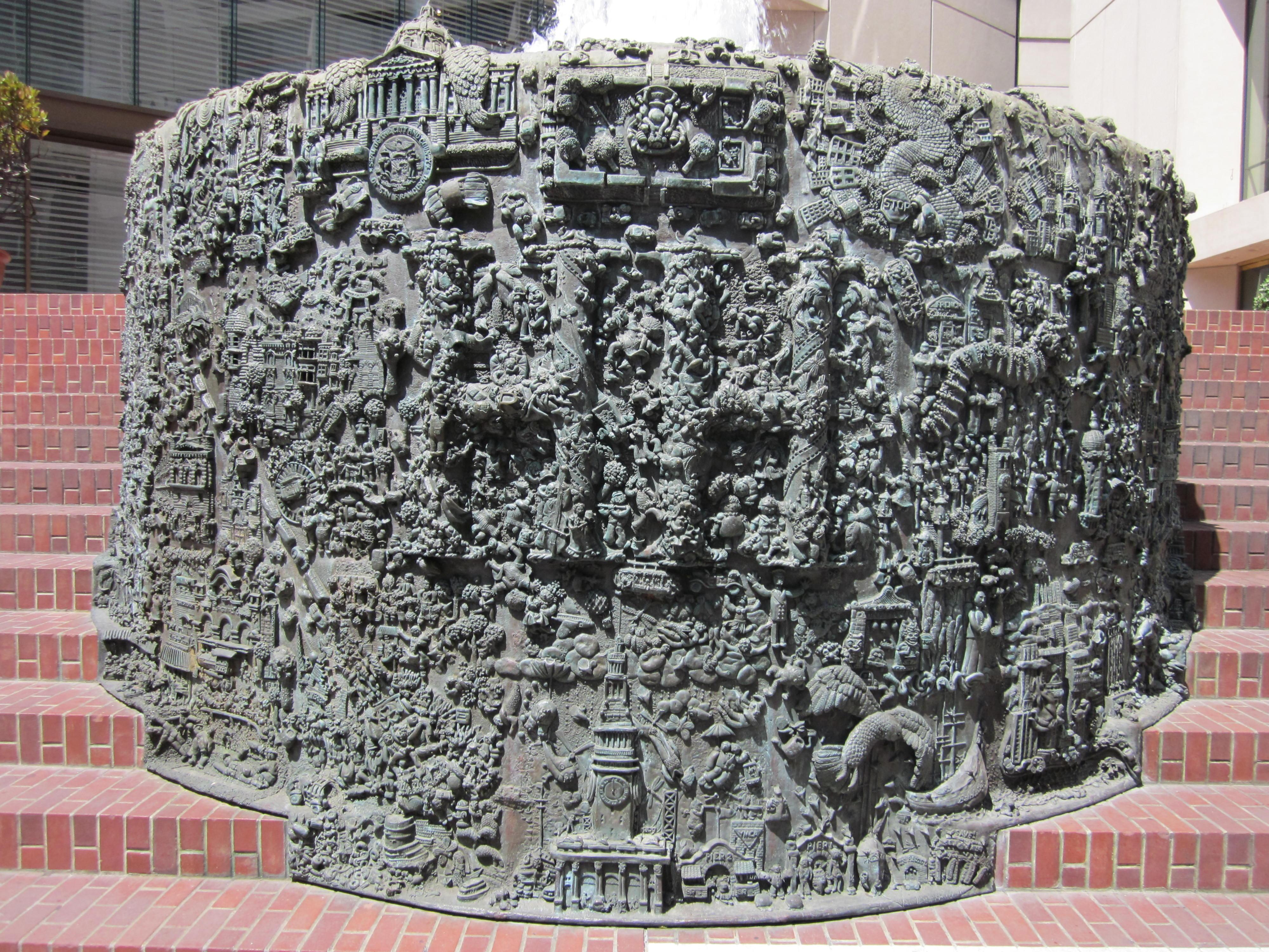 Ruth Asawa\'s San Francisco Fountain - Wikipedia
