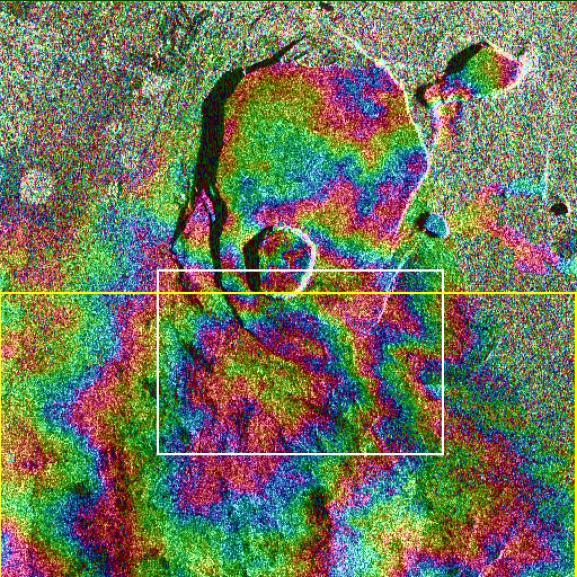 SAR Kilauea topo interferogram.jpg