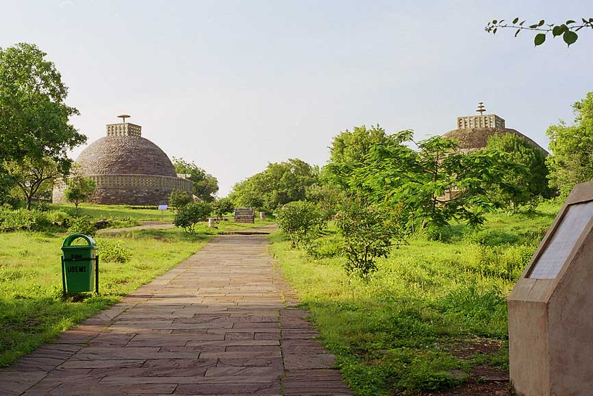 Timeless in Sanchi